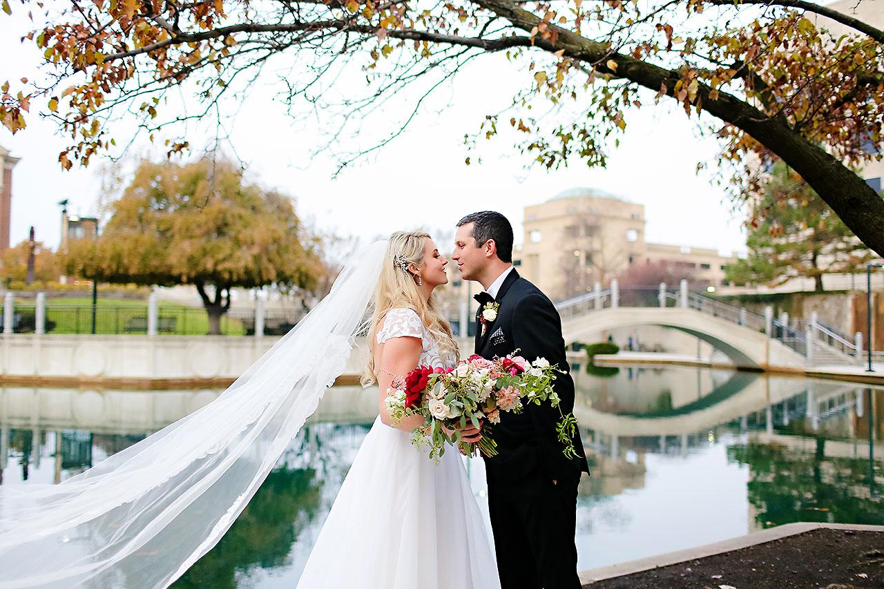 Emily Alex Indianapolis Central Library Wedding 184
