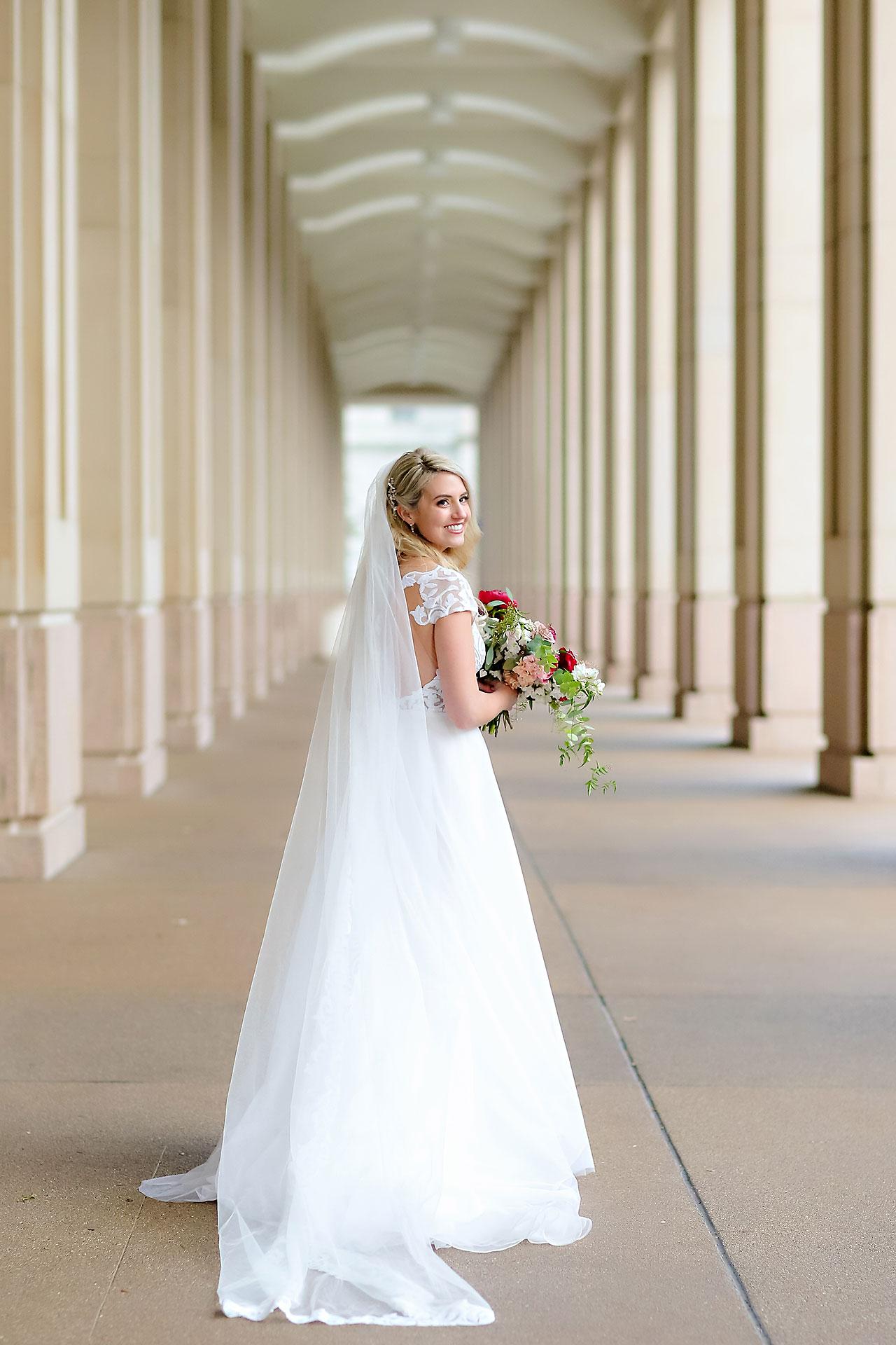 Emily Alex Indianapolis Central Library Wedding 177