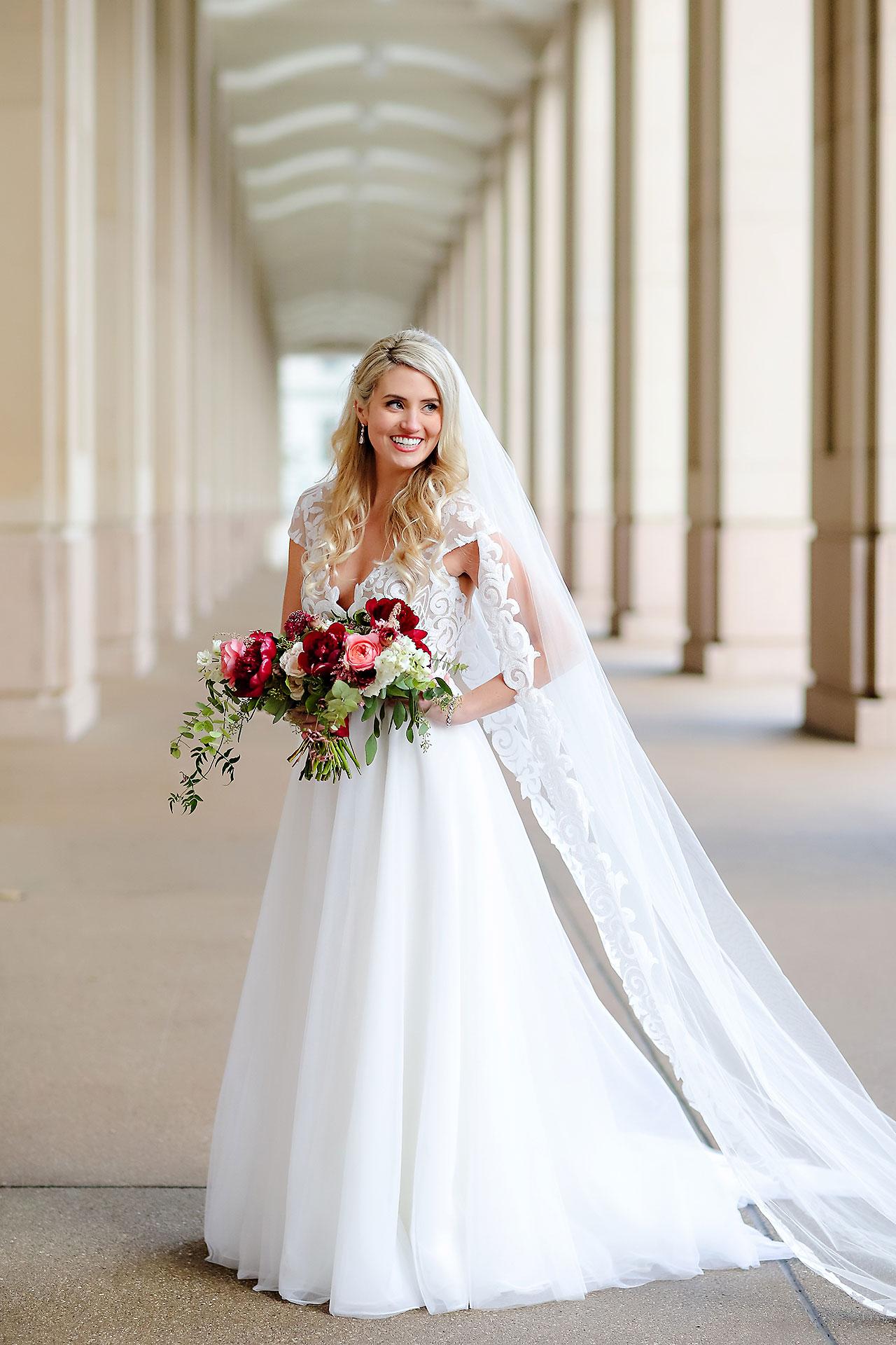 Emily Alex Indianapolis Central Library Wedding 173