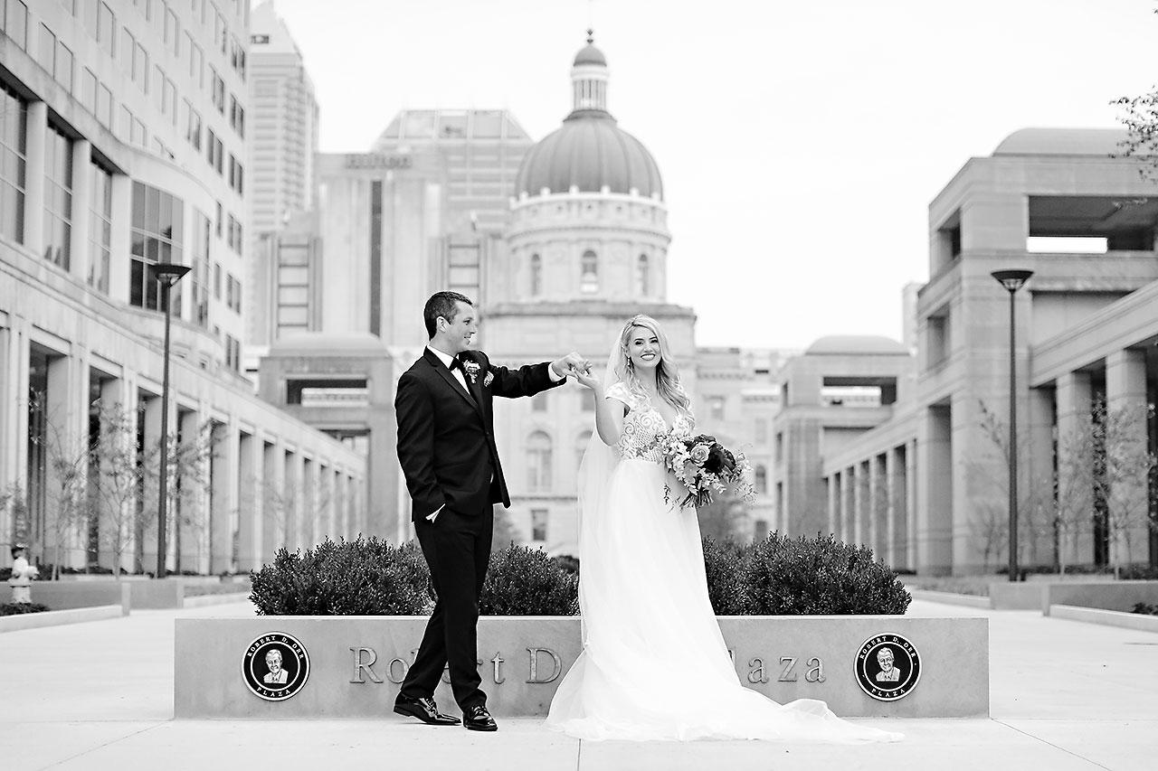 Emily Alex Indianapolis Central Library Wedding 169