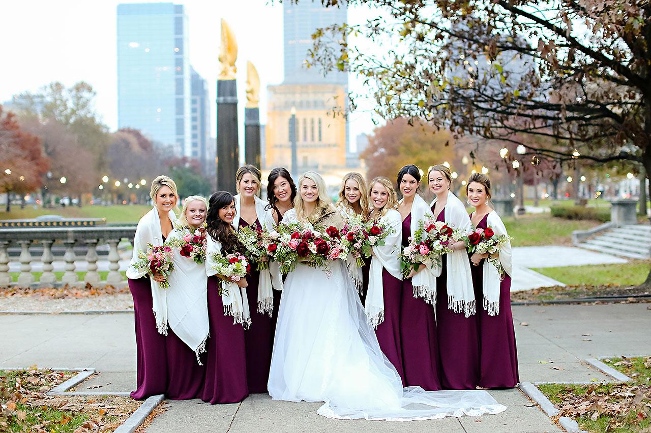 Emily Alex Indianapolis Central Library Wedding 168