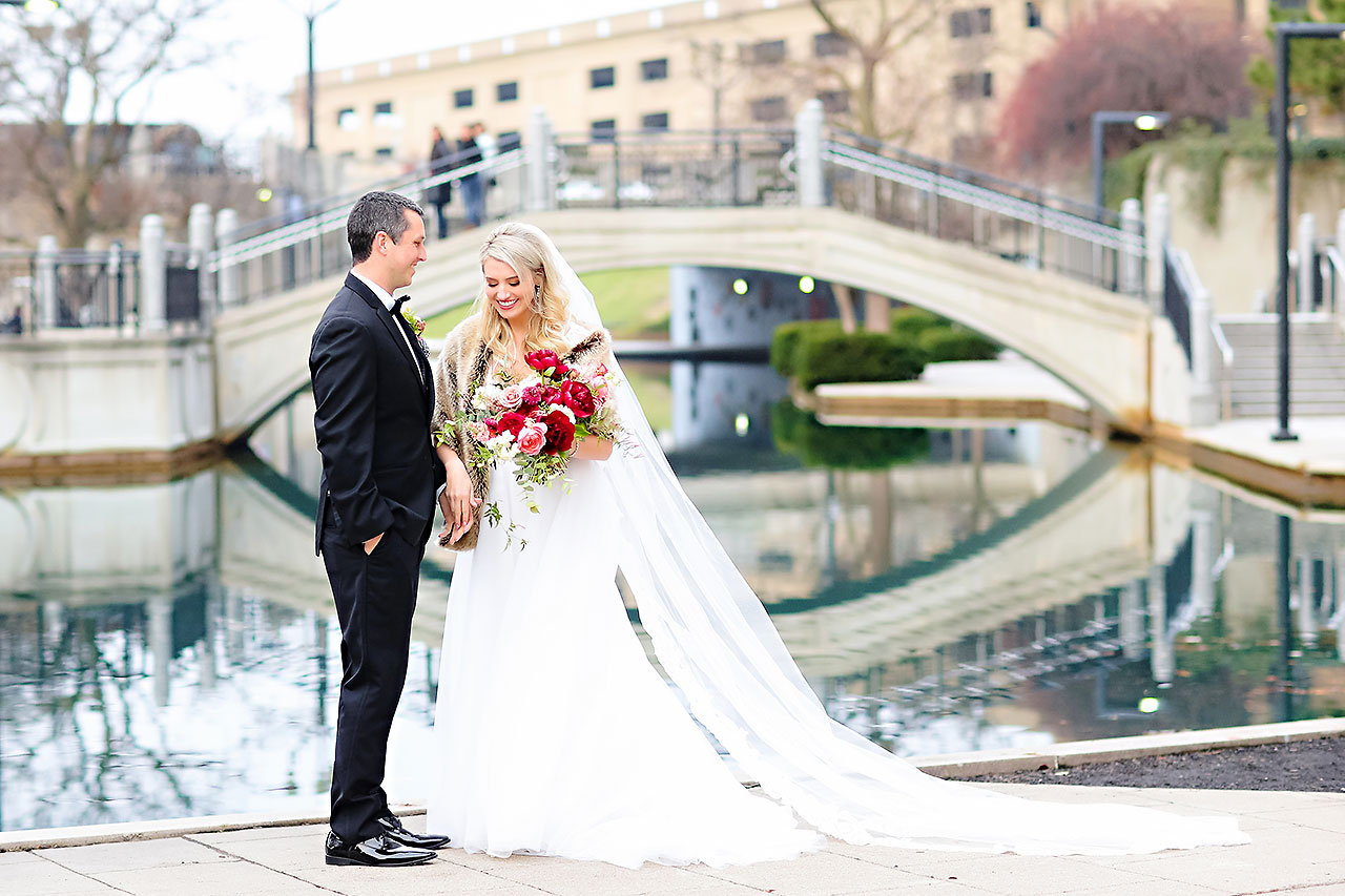 Emily Alex Indianapolis Central Library Wedding 166