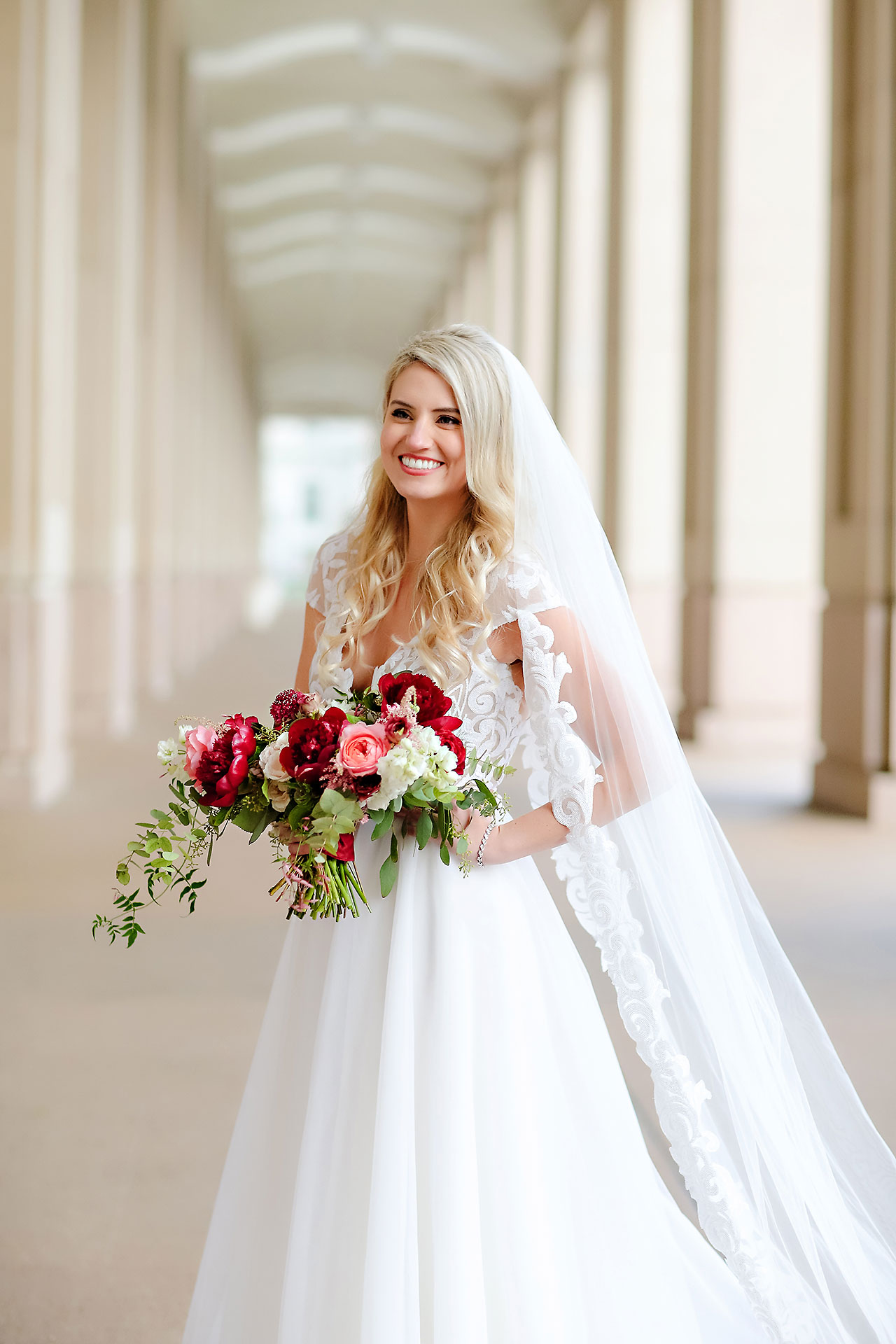 Emily Alex Indianapolis Central Library Wedding 158