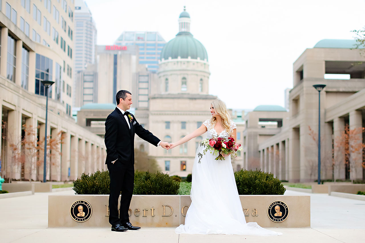 Emily Alex Indianapolis Central Library Wedding 159