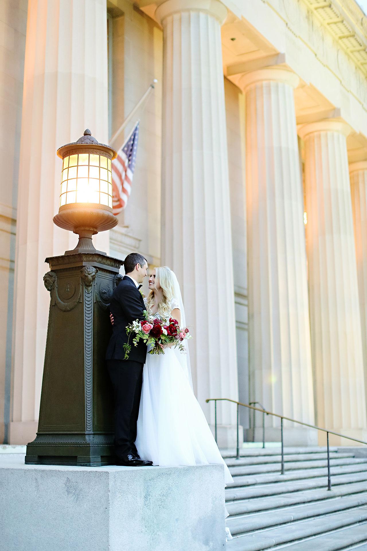 Emily Alex Indianapolis Central Library Wedding 156