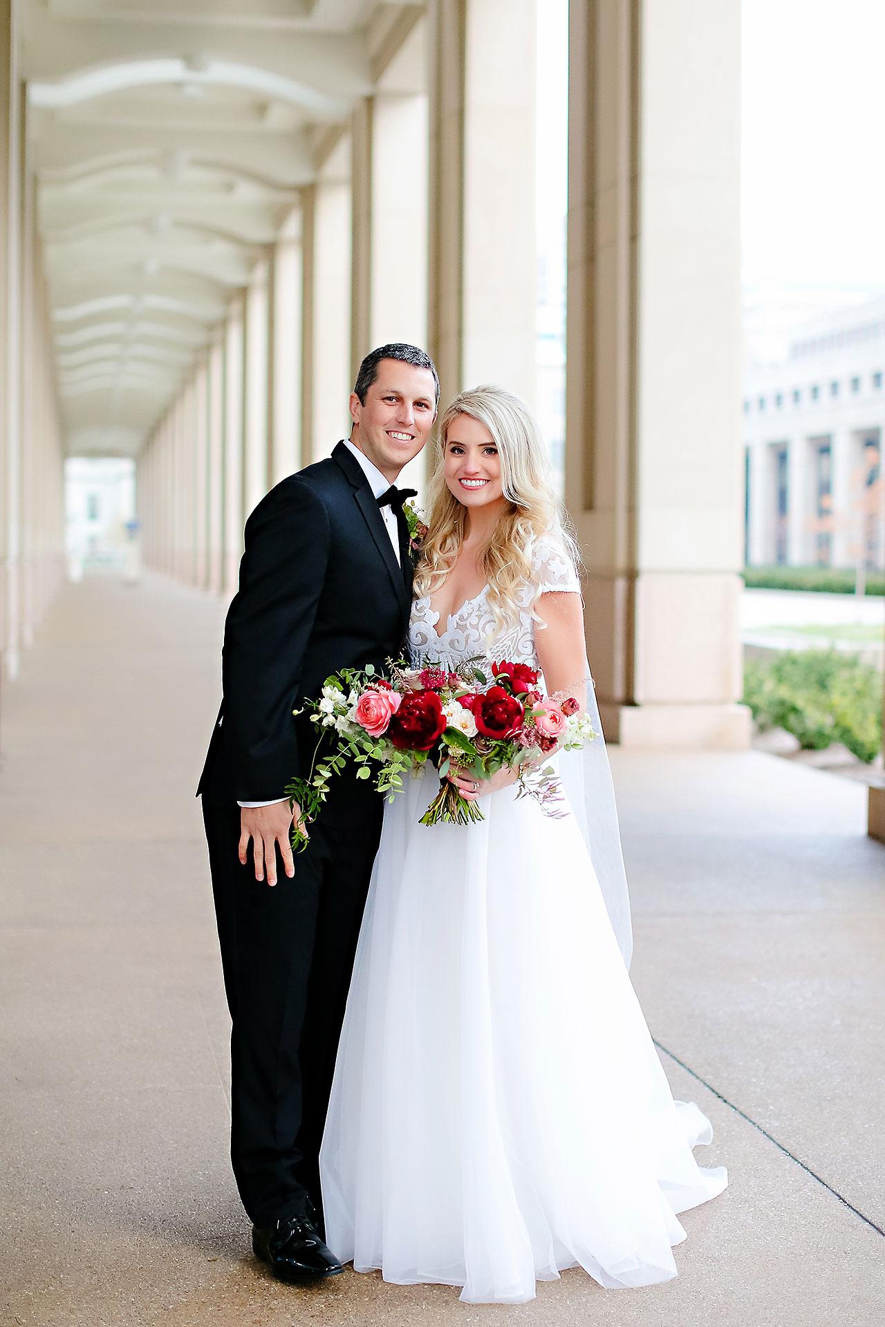 Emily Alex Indianapolis Central Library Wedding 152