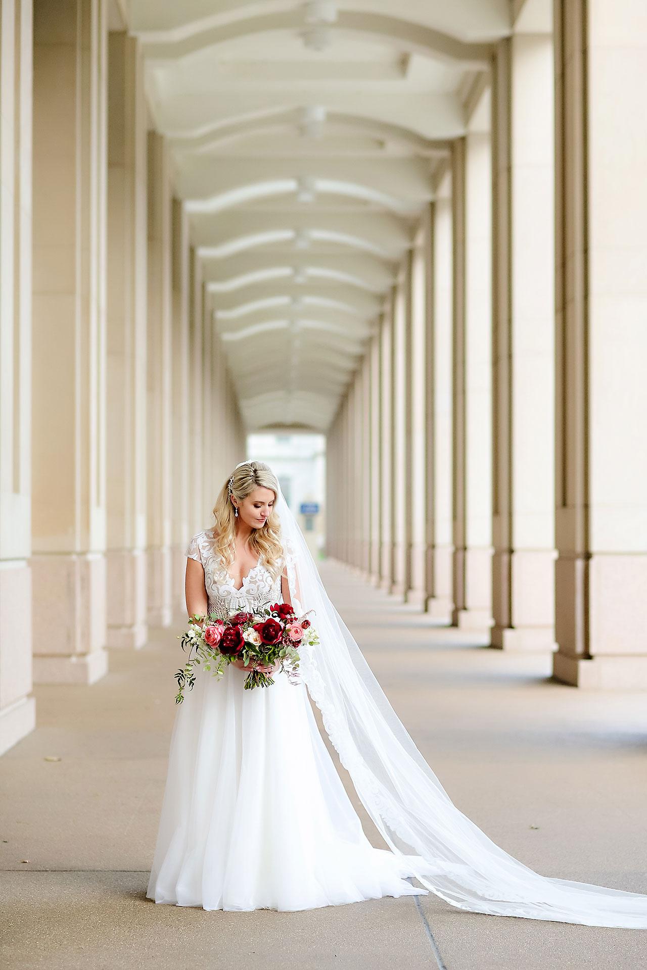 Emily Alex Indianapolis Central Library Wedding 154