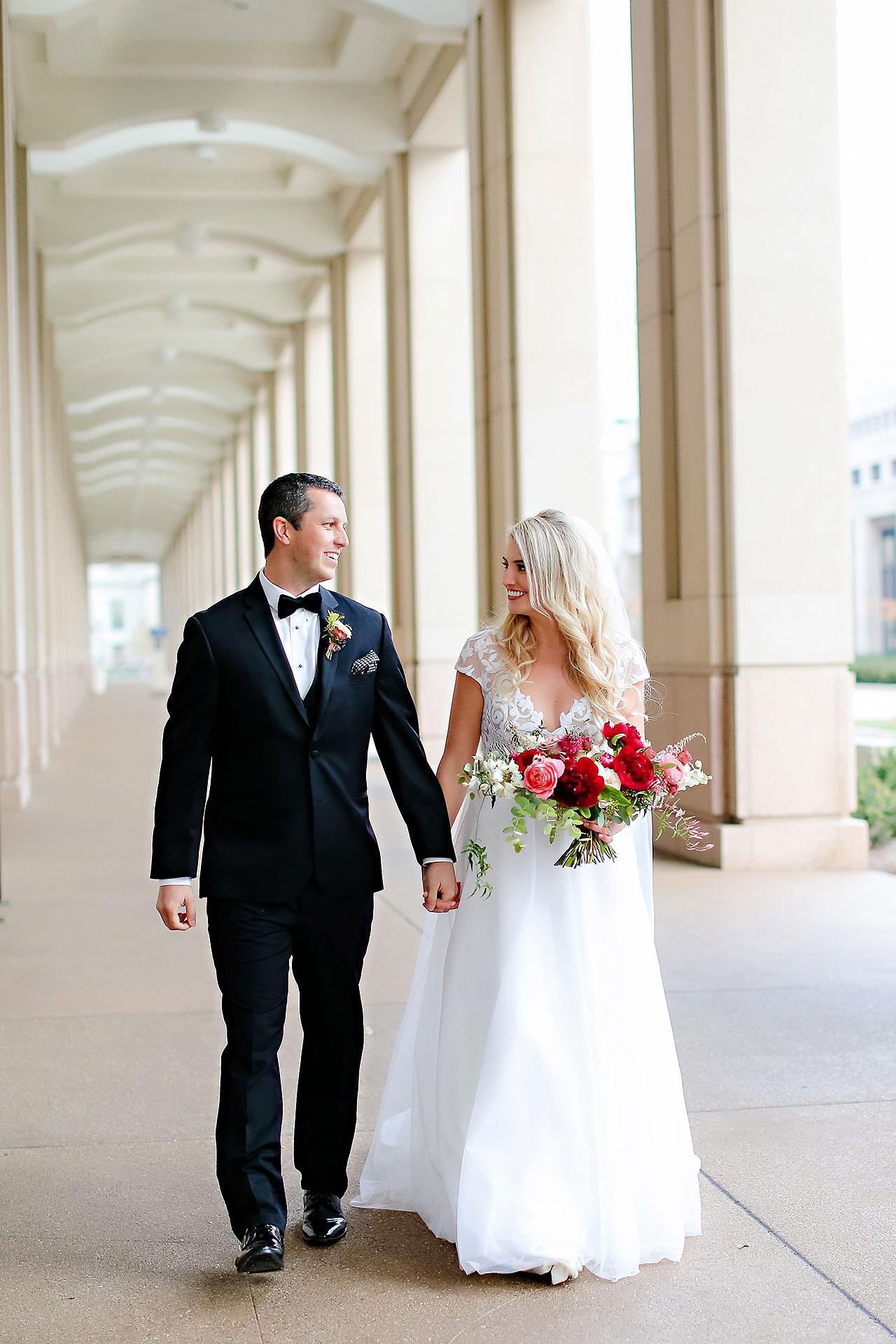 Emily Alex Indianapolis Central Library Wedding 150