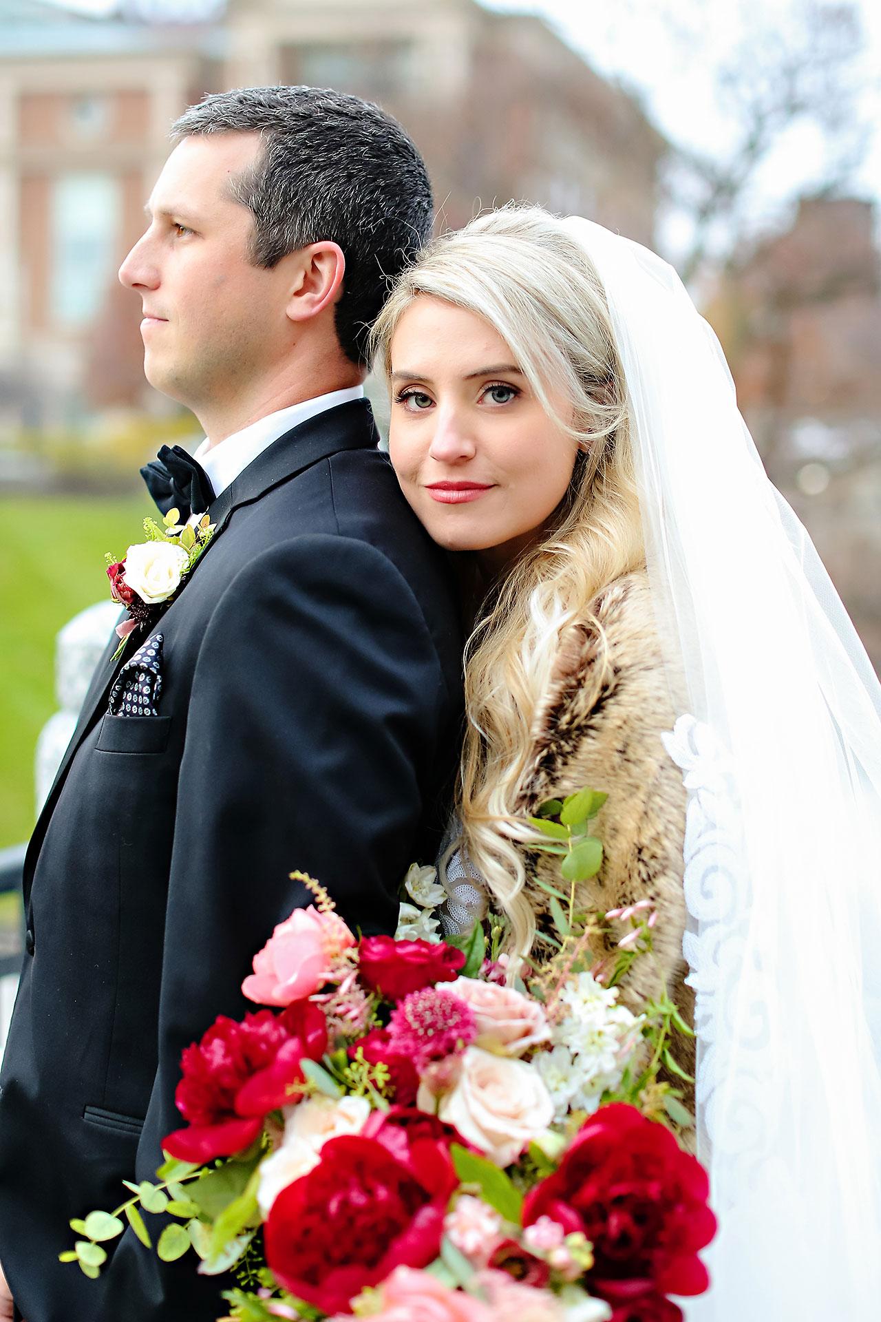 Emily Alex Indianapolis Central Library Wedding 151