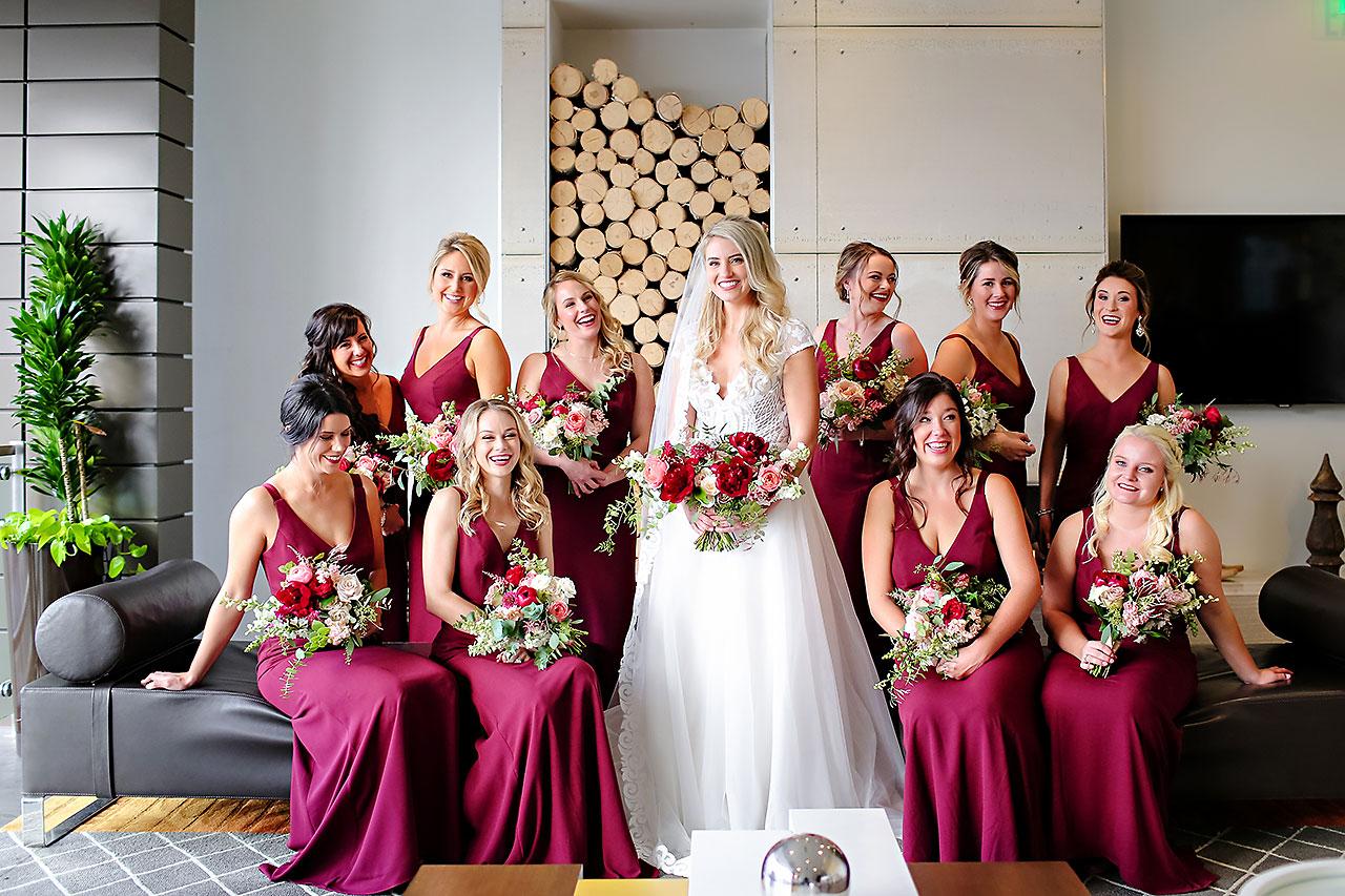 Emily Alex Indianapolis Central Library Wedding 148