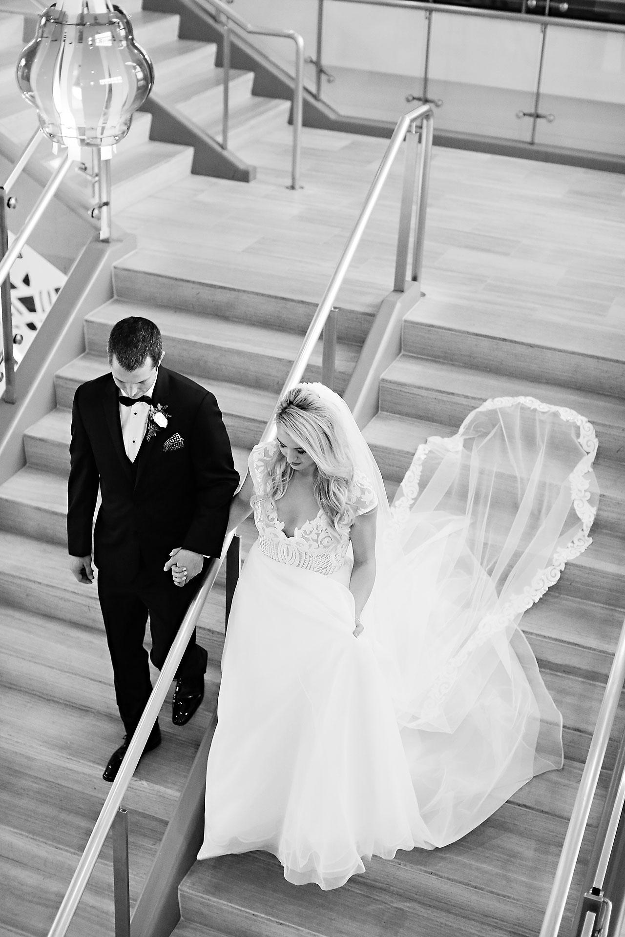 Emily Alex Indianapolis Central Library Wedding 134