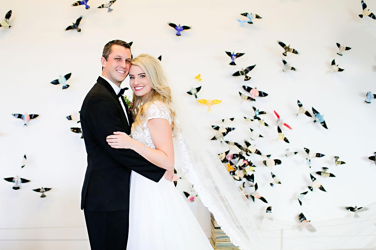 Emily Alex Indianapolis Central Library Wedding 124