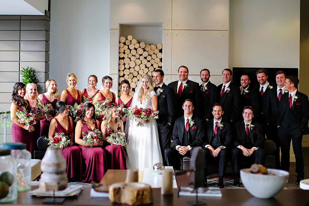 Emily Alex Indianapolis Central Library Wedding 119