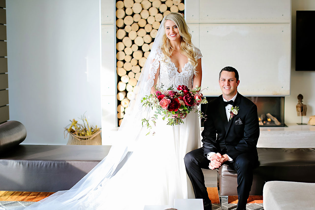 Emily Alex Indianapolis Central Library Wedding 100