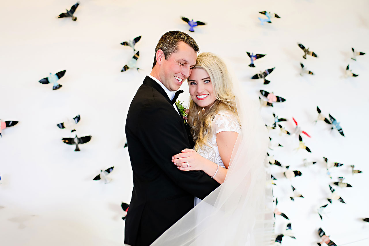 Emily Alex Indianapolis Central Library Wedding 101