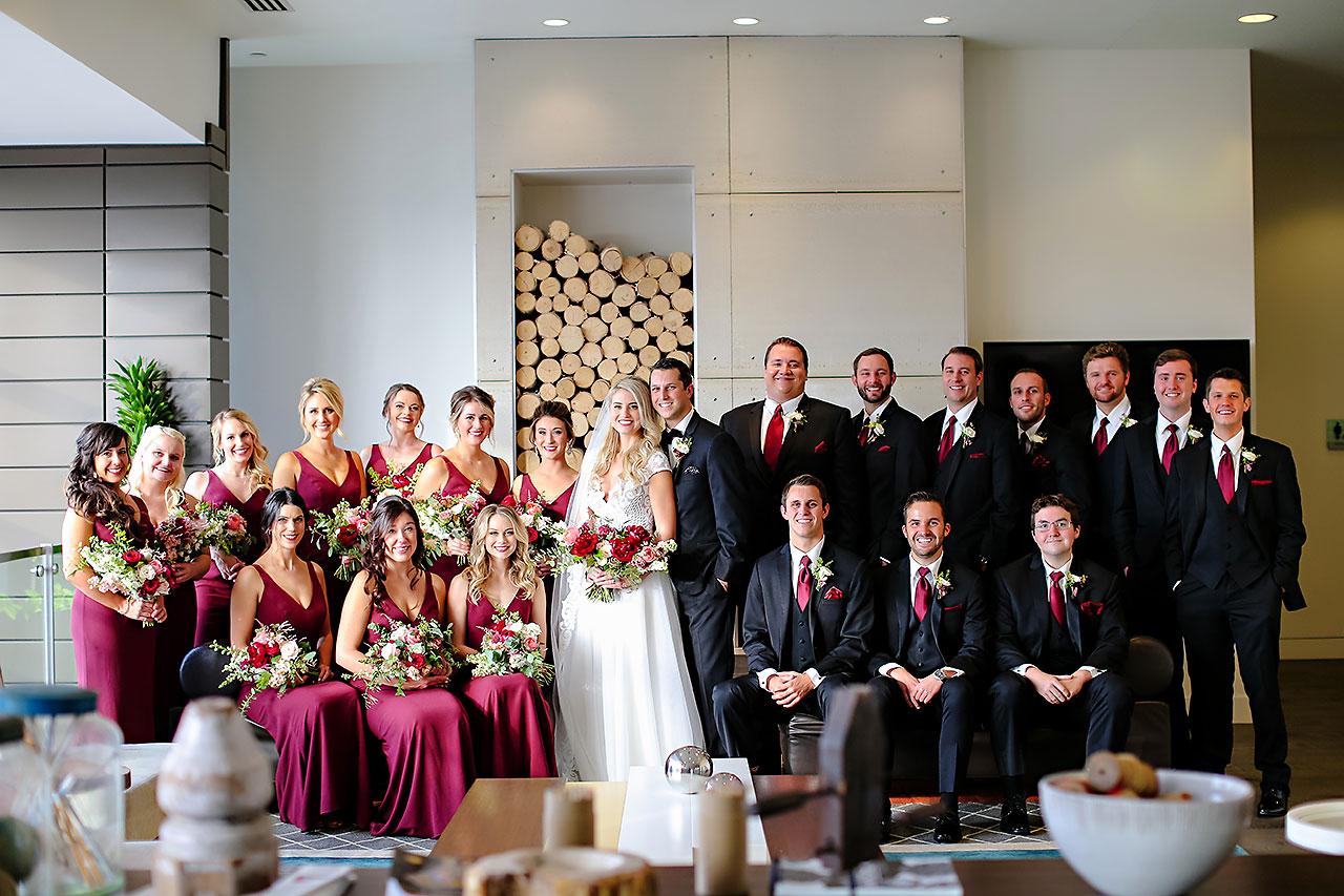 Emily Alex Indianapolis Central Library Wedding 099