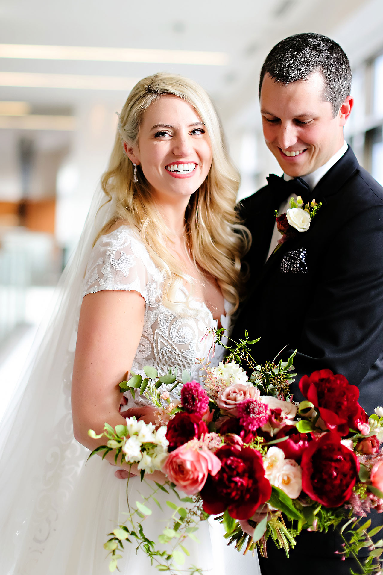 Emily Alex Indianapolis Central Library Wedding 097