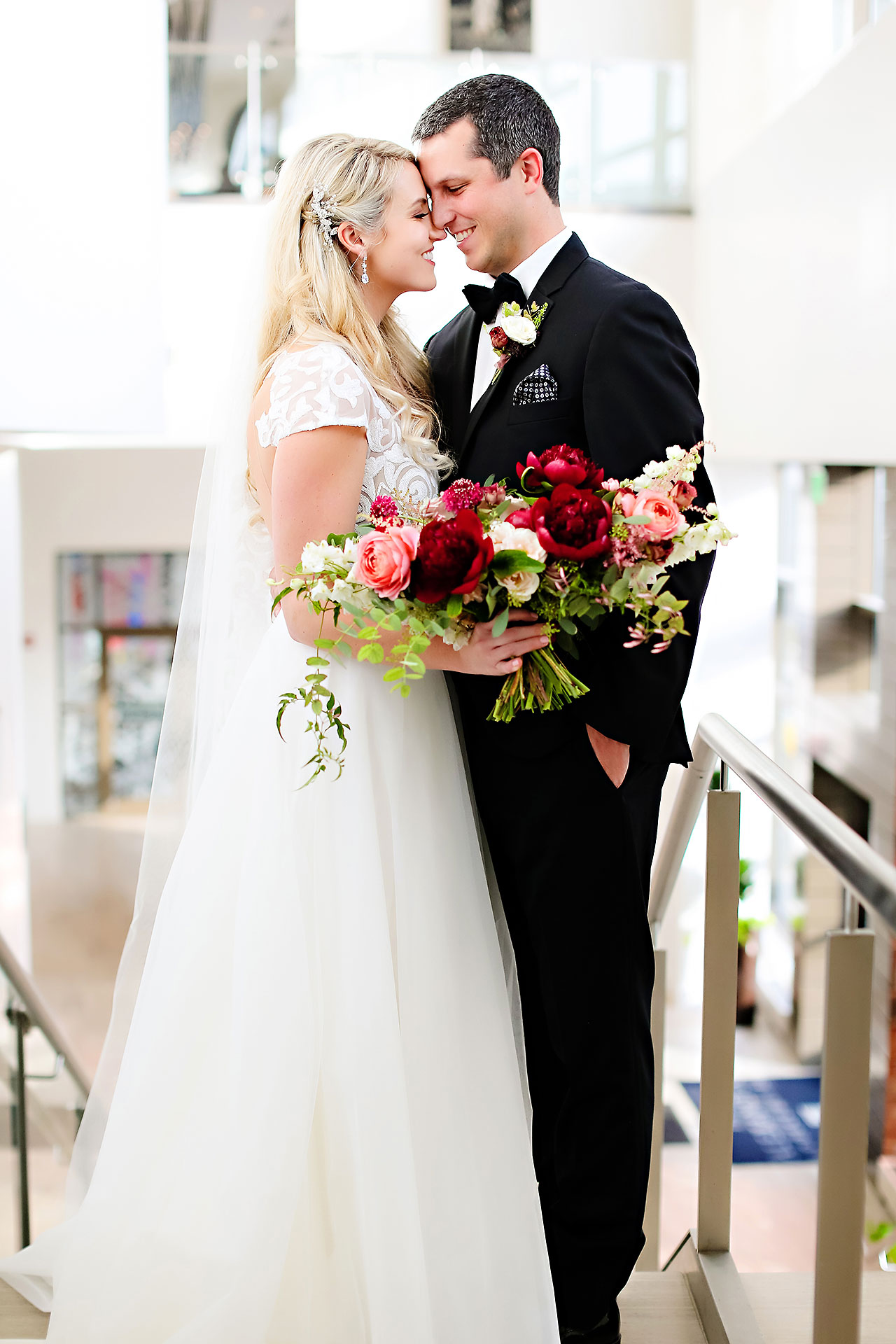 Emily Alex Indianapolis Central Library Wedding 087