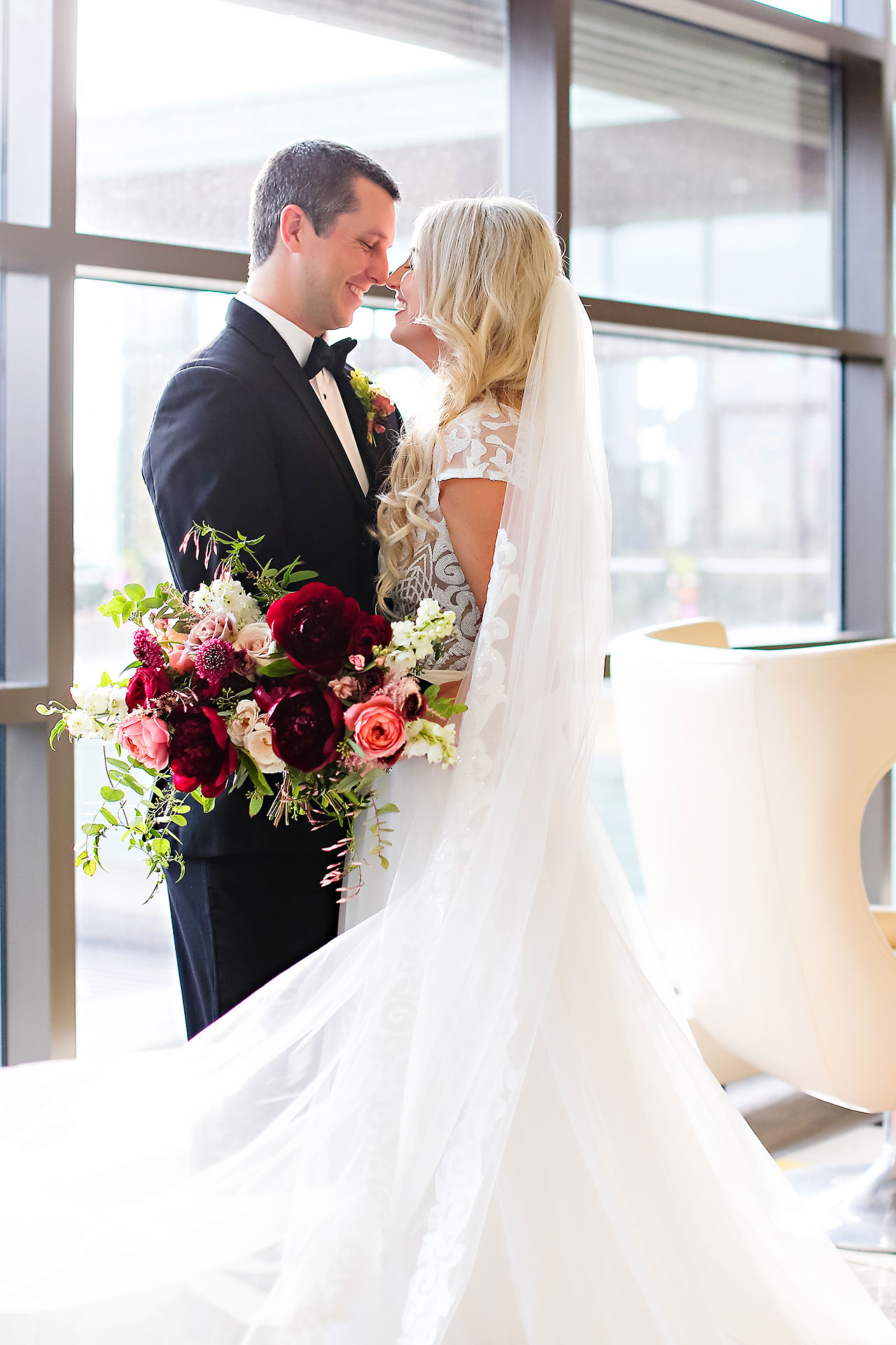 Emily Alex Indianapolis Central Library Wedding 082