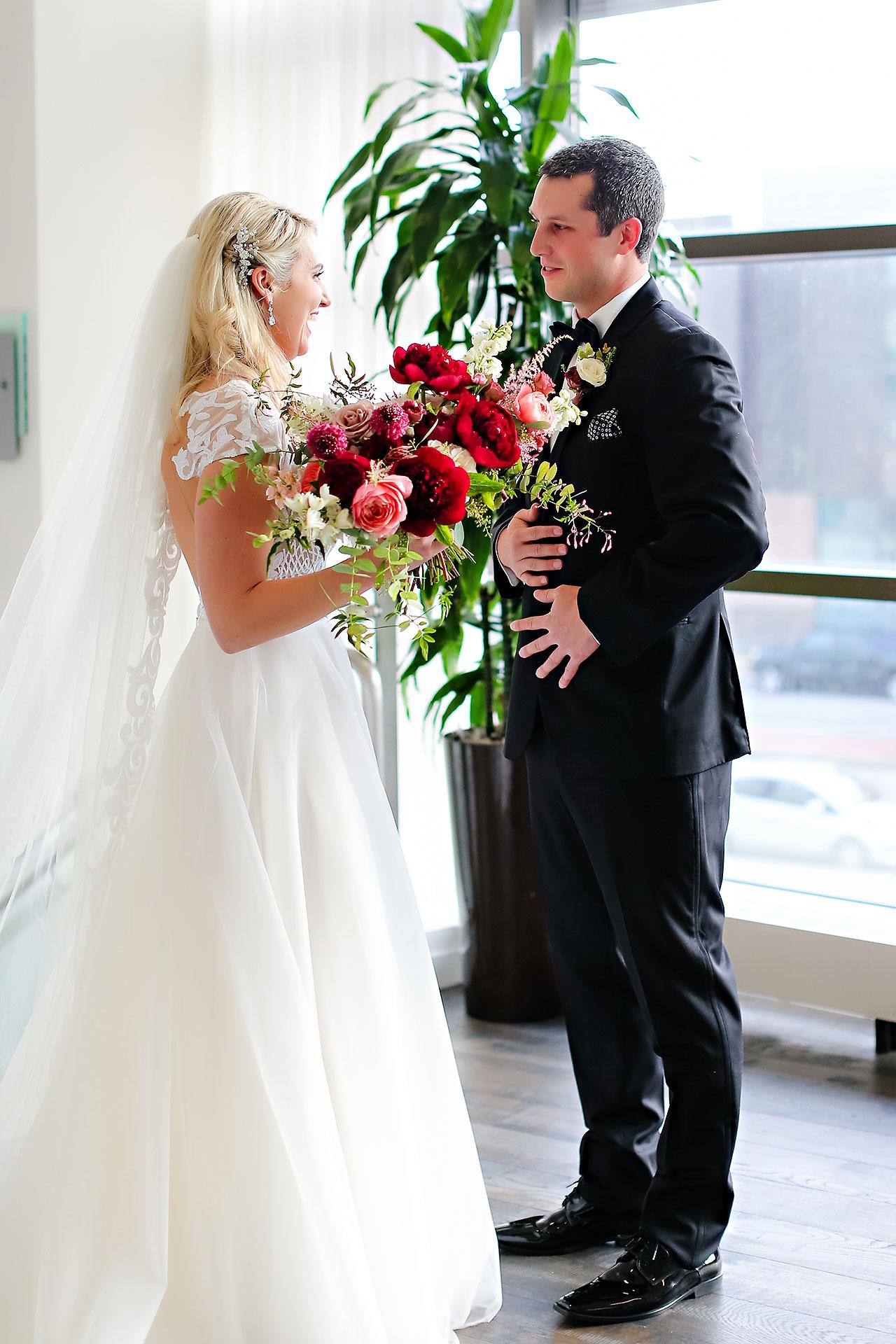 Emily Alex Indianapolis Central Library Wedding 062