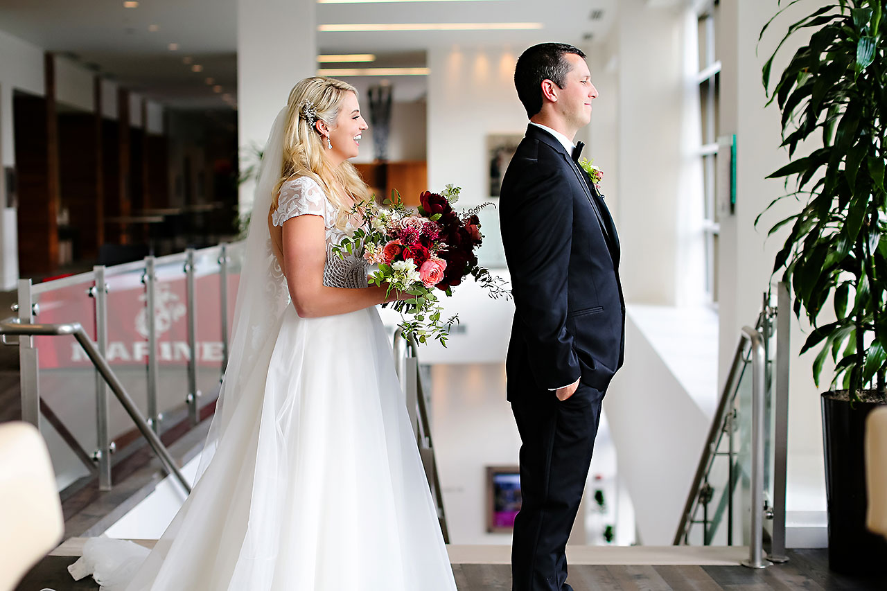 Emily Alex Indianapolis Central Library Wedding 059