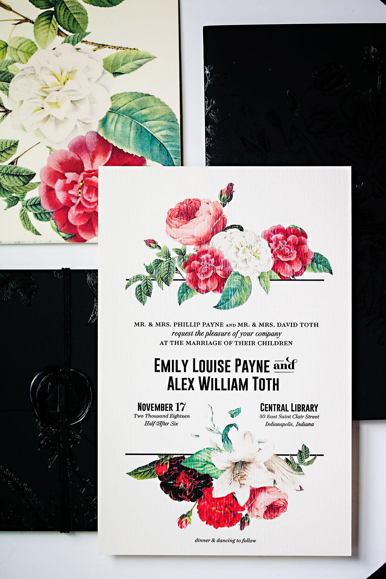 Emily Alex Indianapolis Central Library Wedding 001