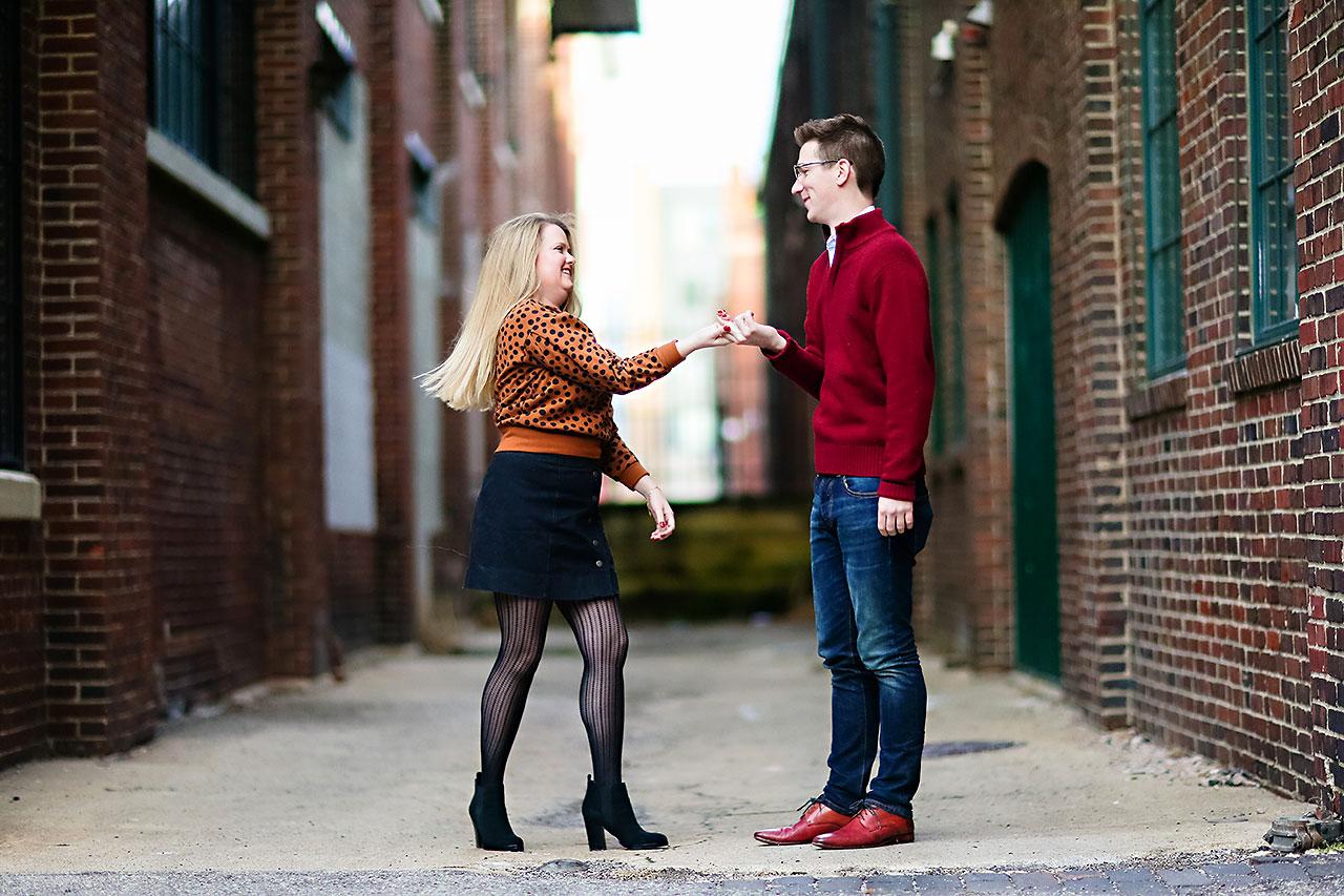 Lauren Andy Mass Ave Engagement 123