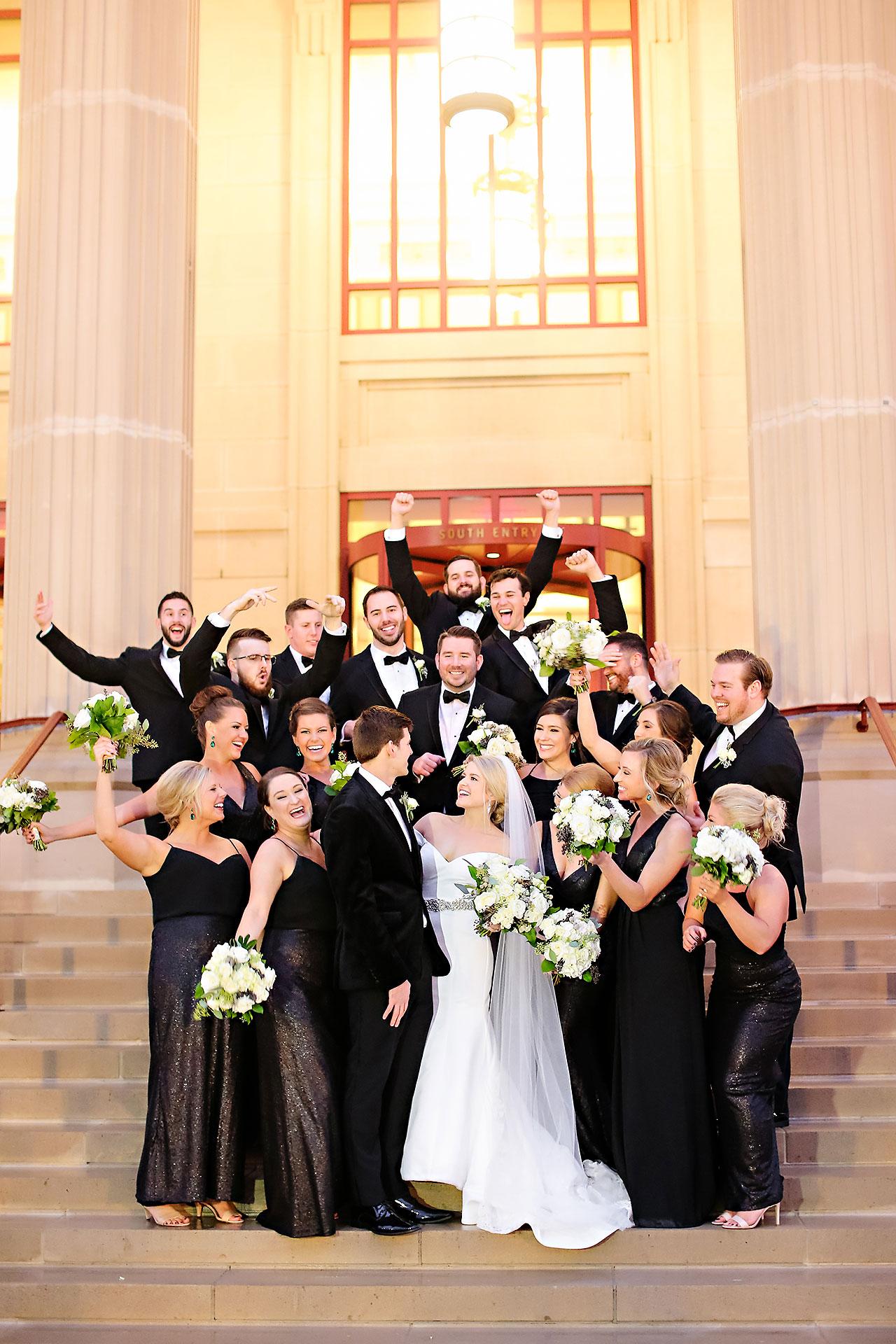 Emily Andrew New Years Eve Indianapolis Wedding 116