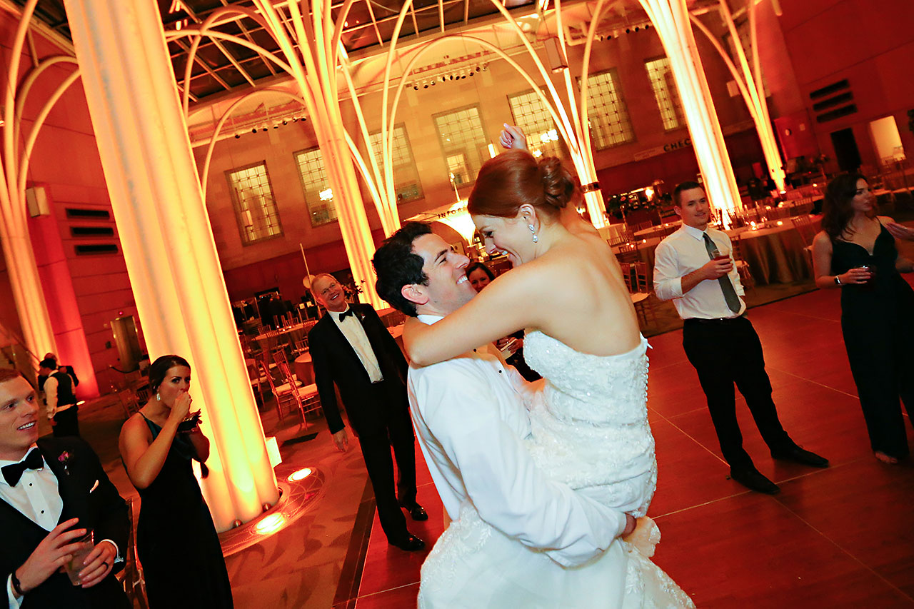 Marianne Steven Indianapolis Central Library Wedding 386