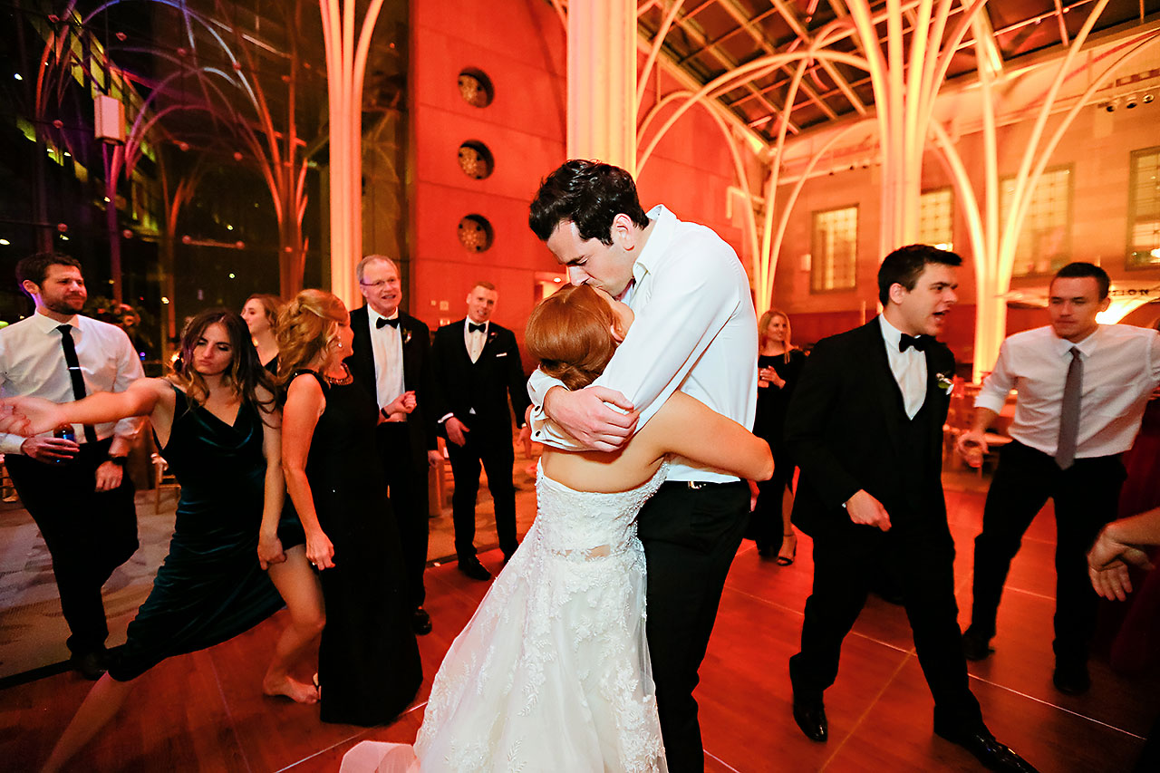 Marianne Steven Indianapolis Central Library Wedding 385