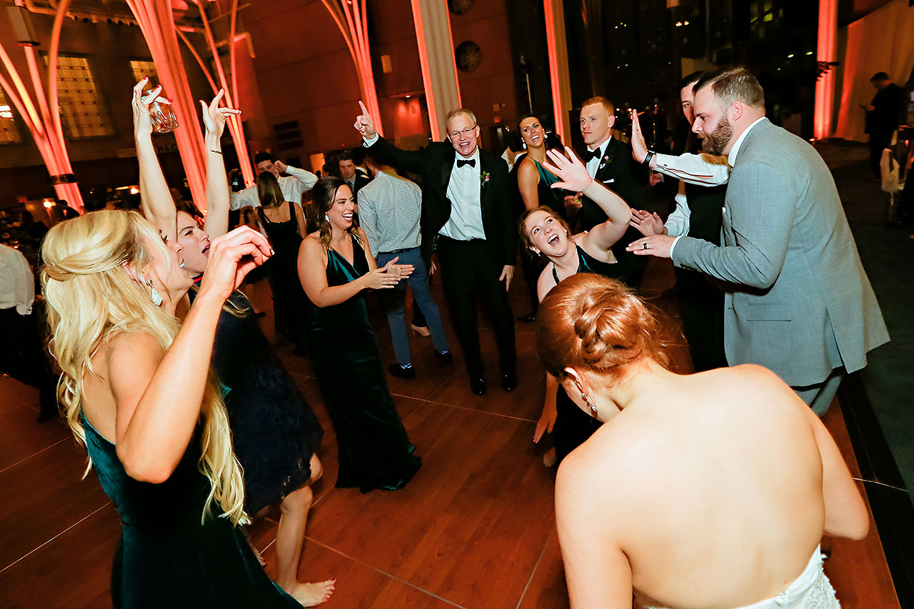Marianne Steven Indianapolis Central Library Wedding 373