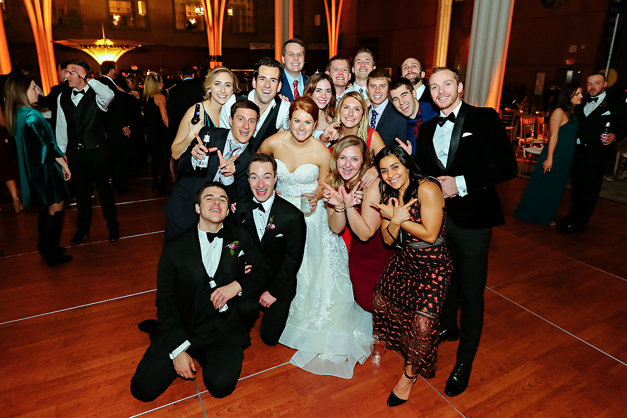 Marianne Steven Indianapolis Central Library Wedding 368