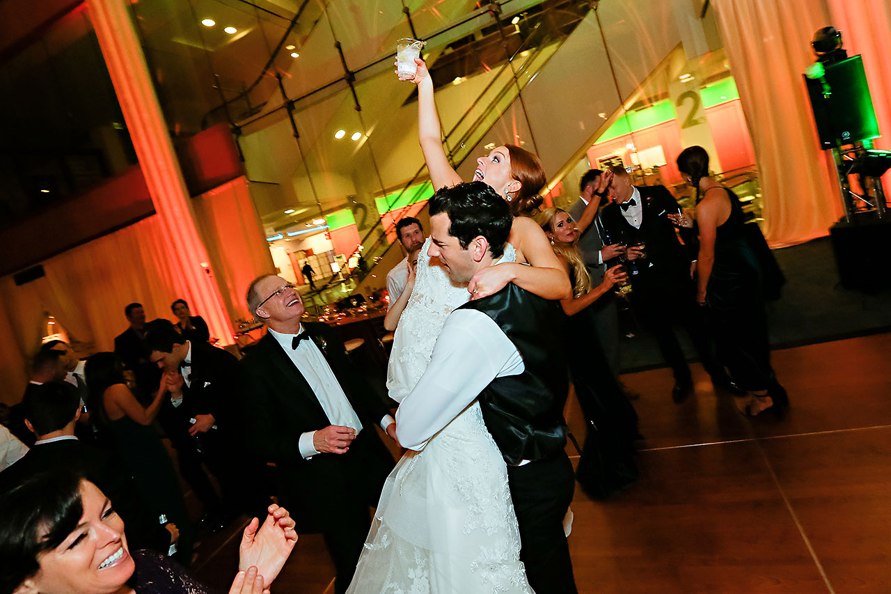 Marianne Steven Indianapolis Central Library Wedding 346