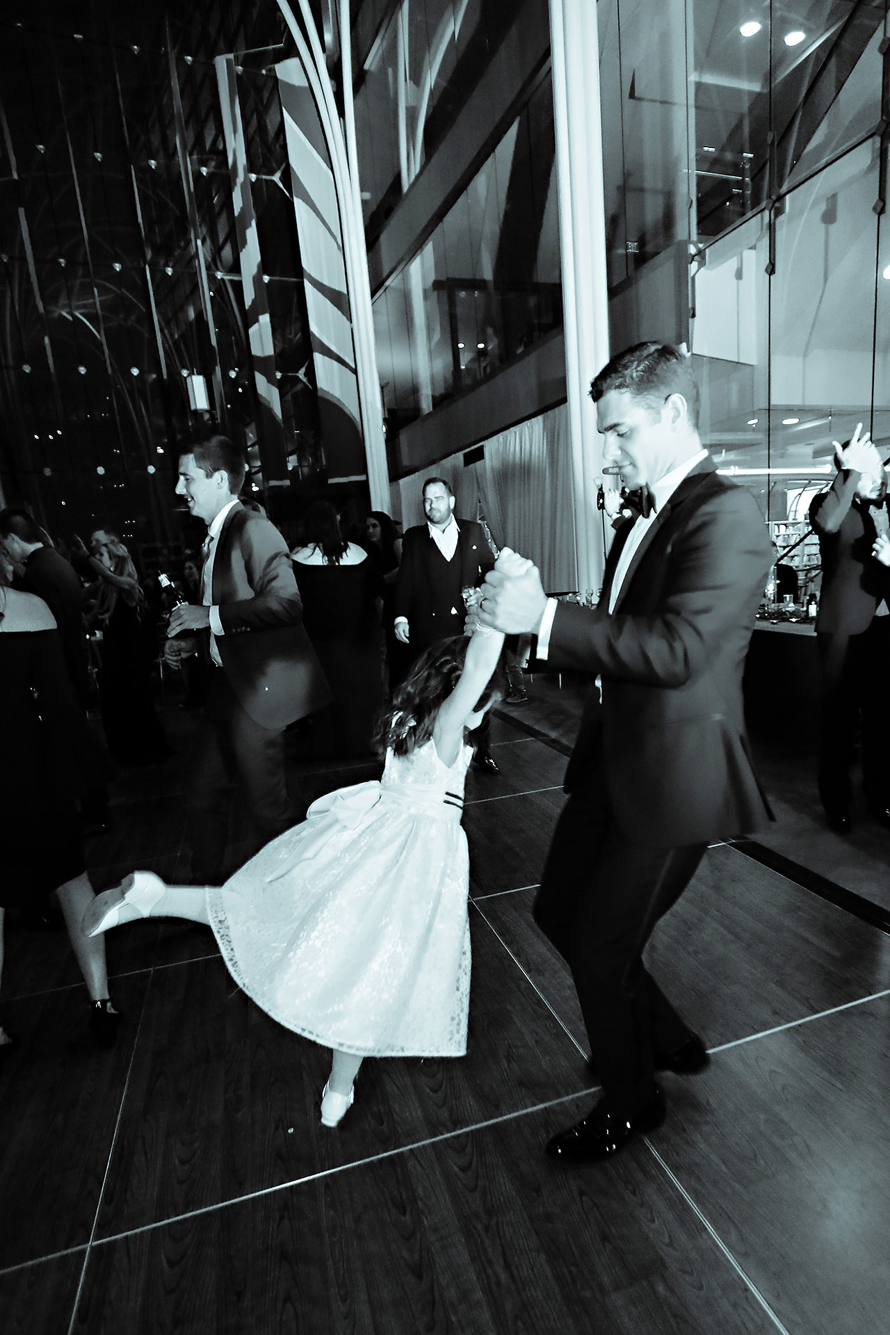 Marianne Steven Indianapolis Central Library Wedding 337