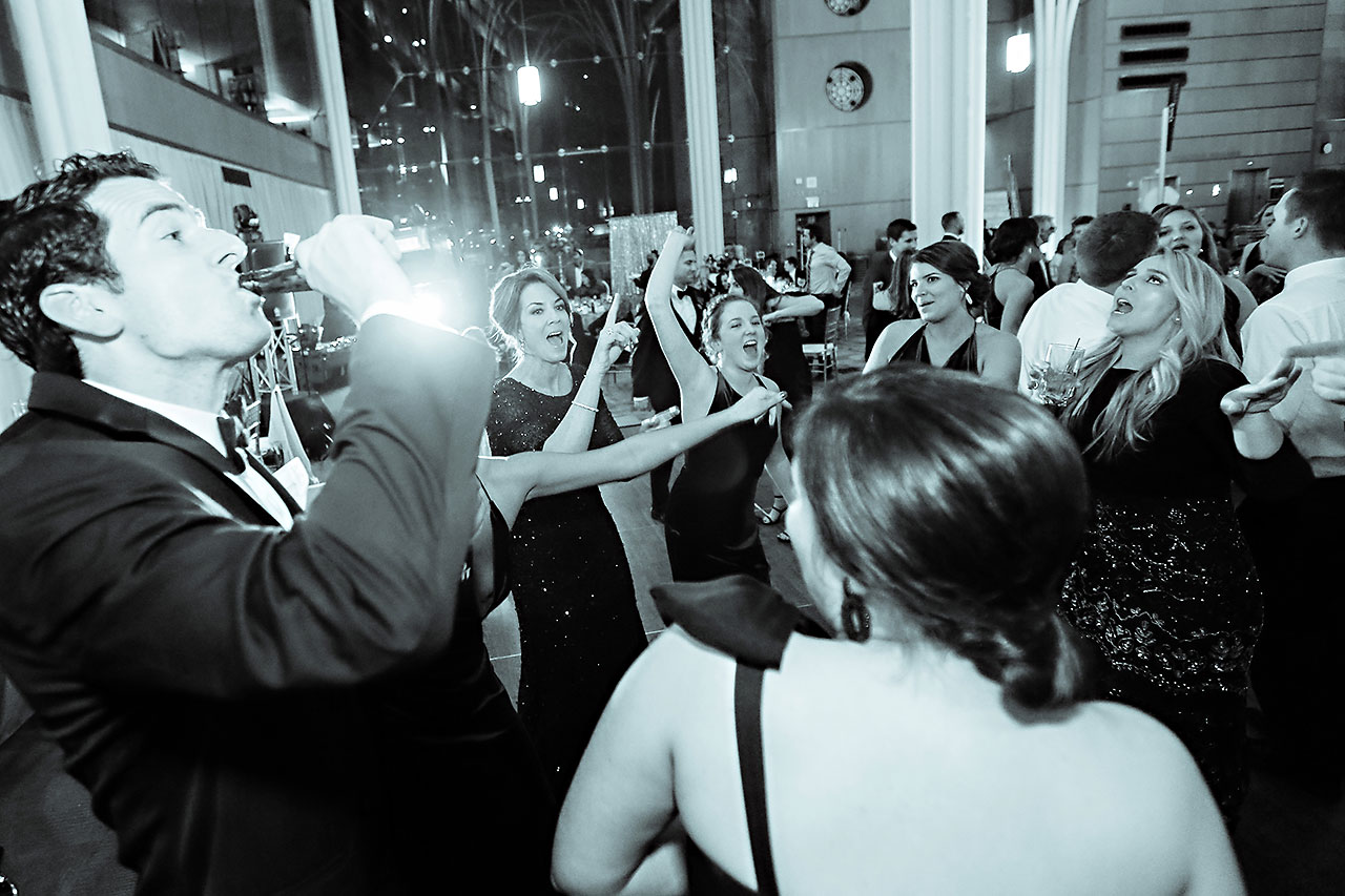 Marianne Steven Indianapolis Central Library Wedding 315