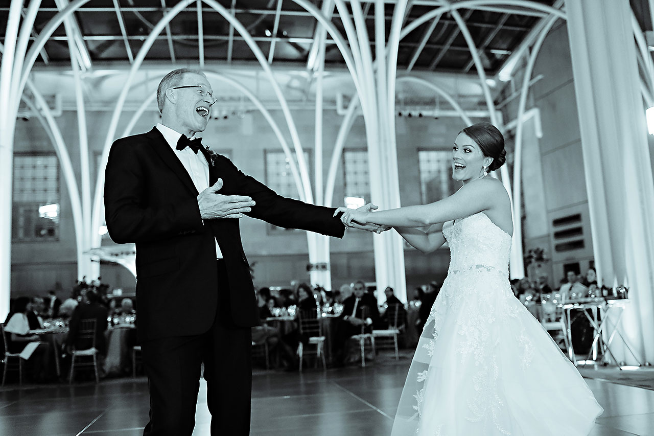 Marianne Steven Indianapolis Central Library Wedding 296