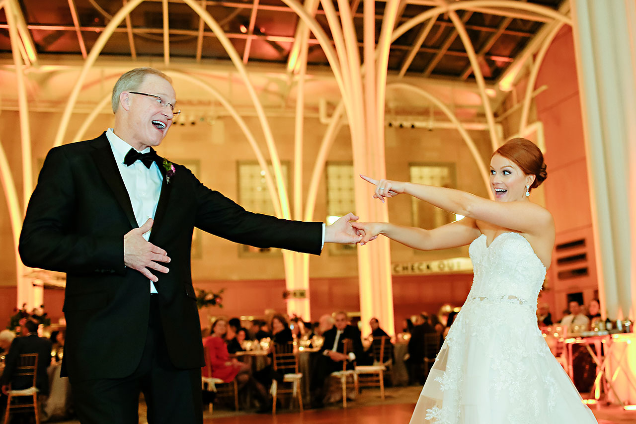 Marianne Steven Indianapolis Central Library Wedding 295