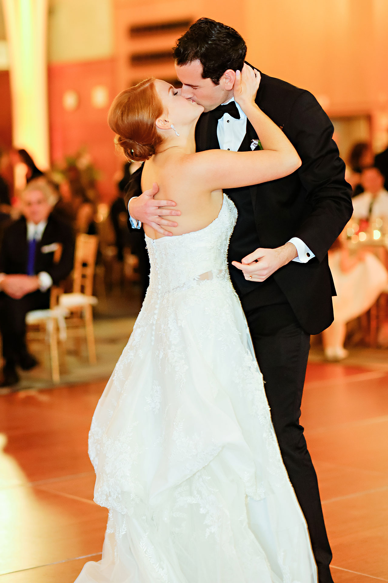 Marianne Steven Indianapolis Central Library Wedding 278