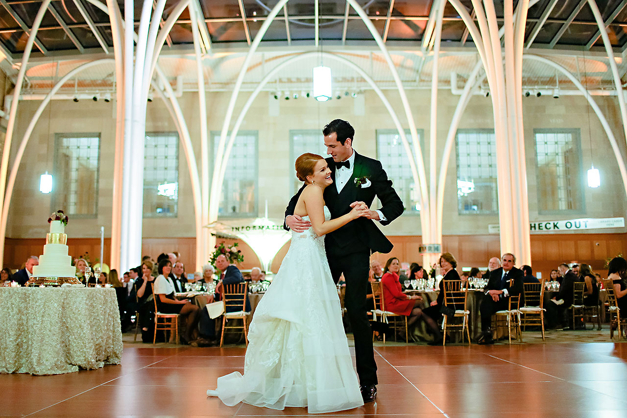 Marianne Steven Indianapolis Central Library Wedding 276