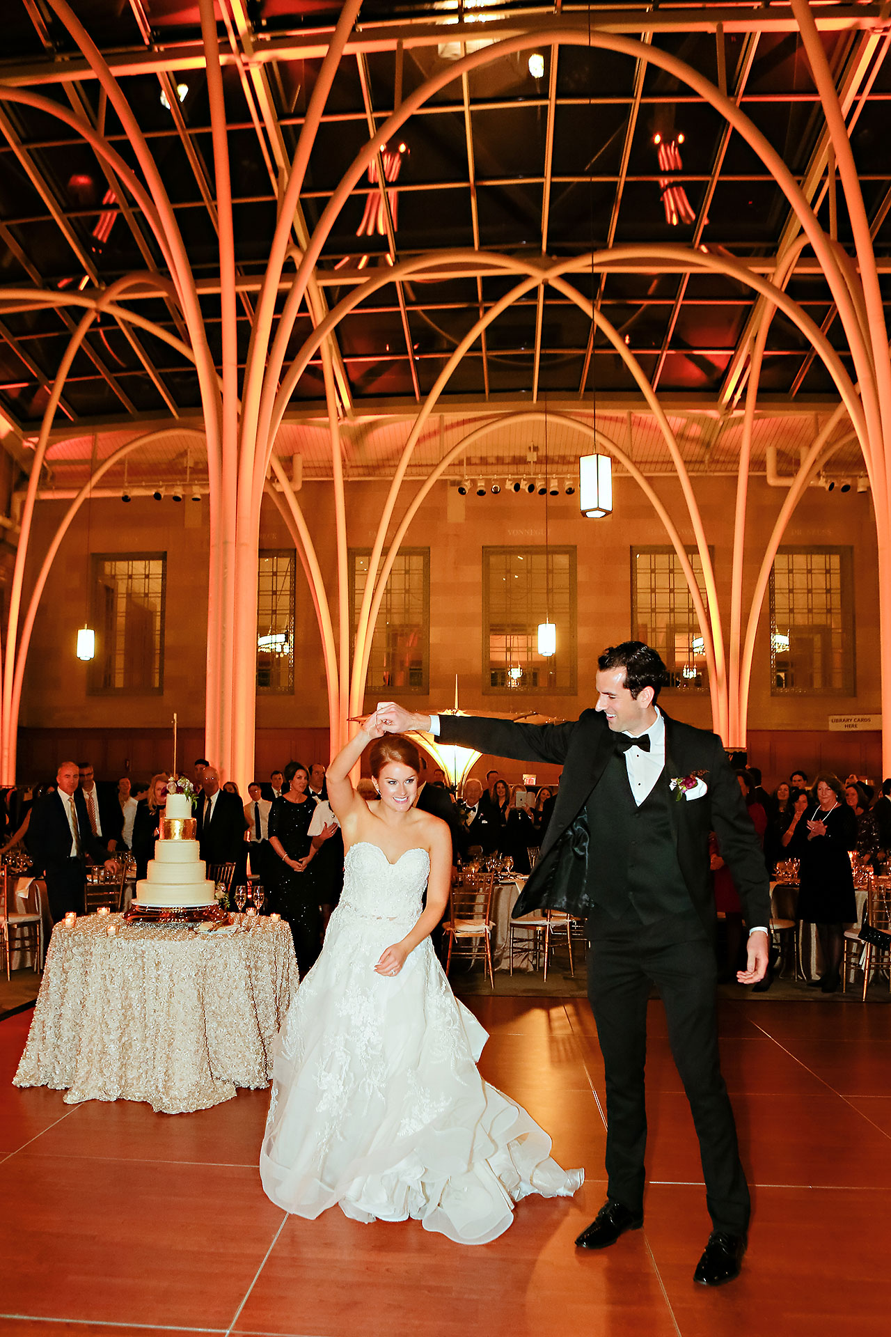 Marianne Steven Indianapolis Central Library Wedding 272