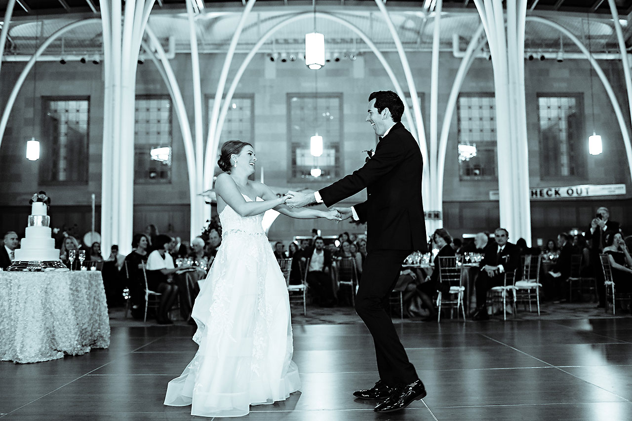 Marianne Steven Indianapolis Central Library Wedding 270