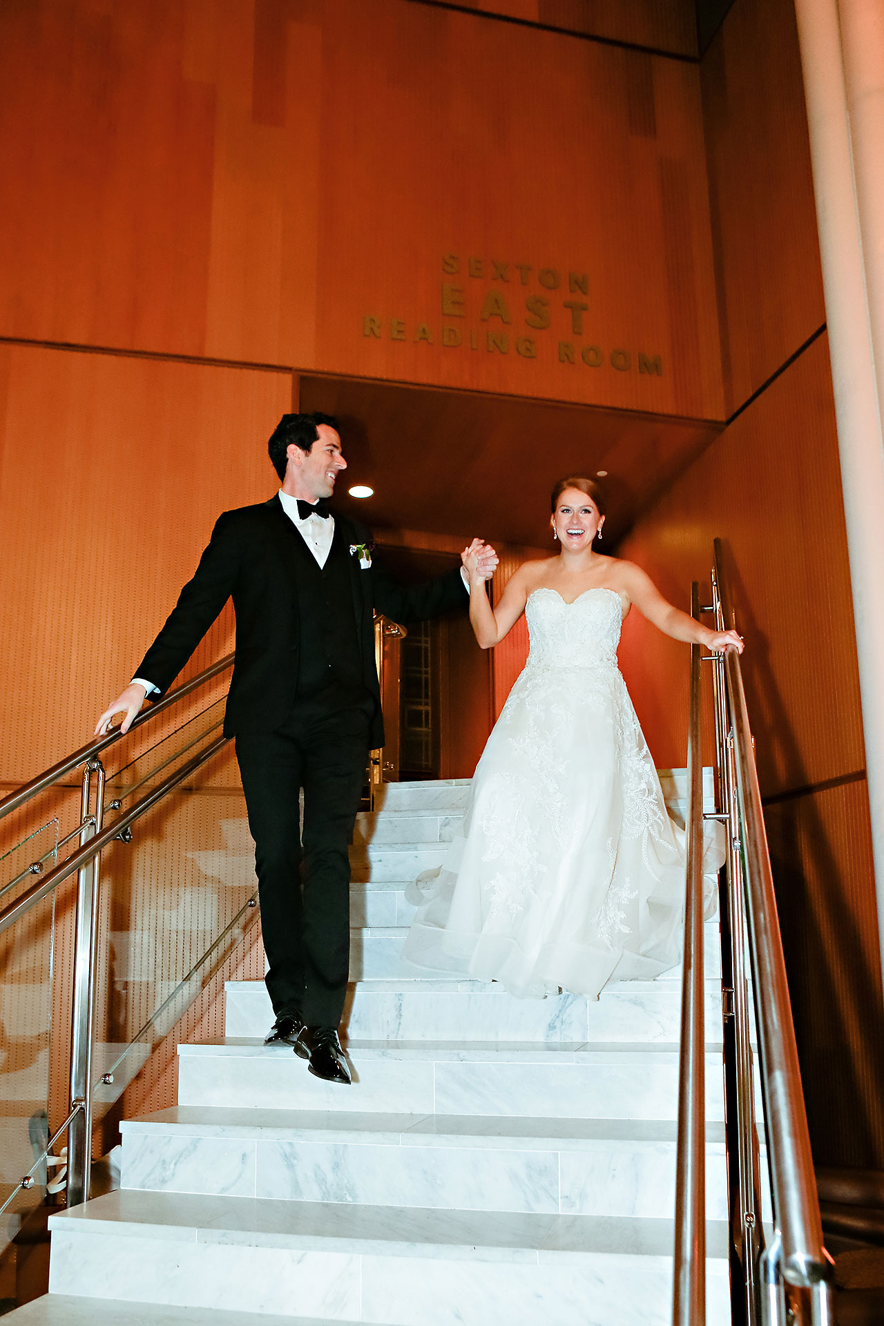 Marianne Steven Indianapolis Central Library Wedding 267