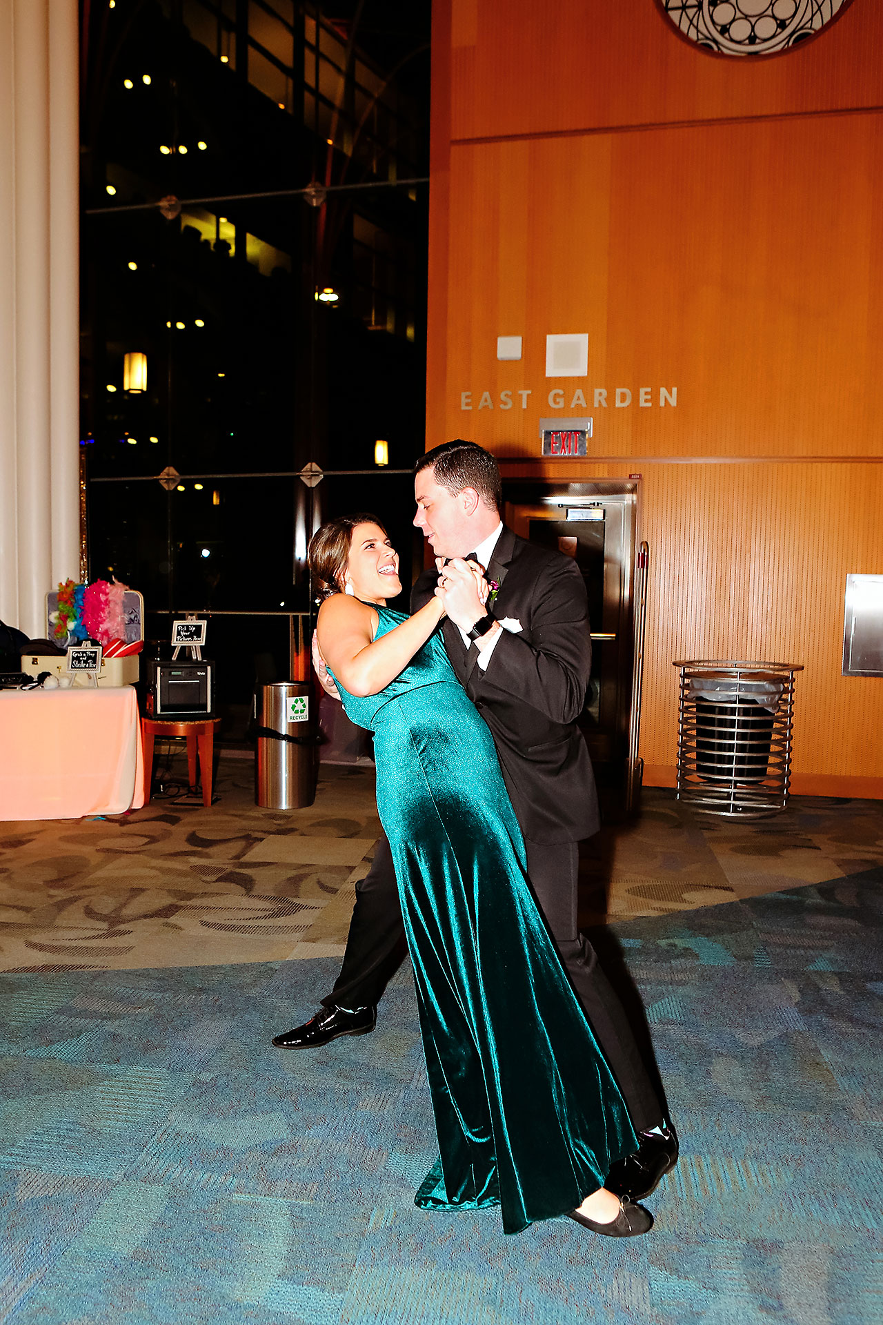Marianne Steven Indianapolis Central Library Wedding 263