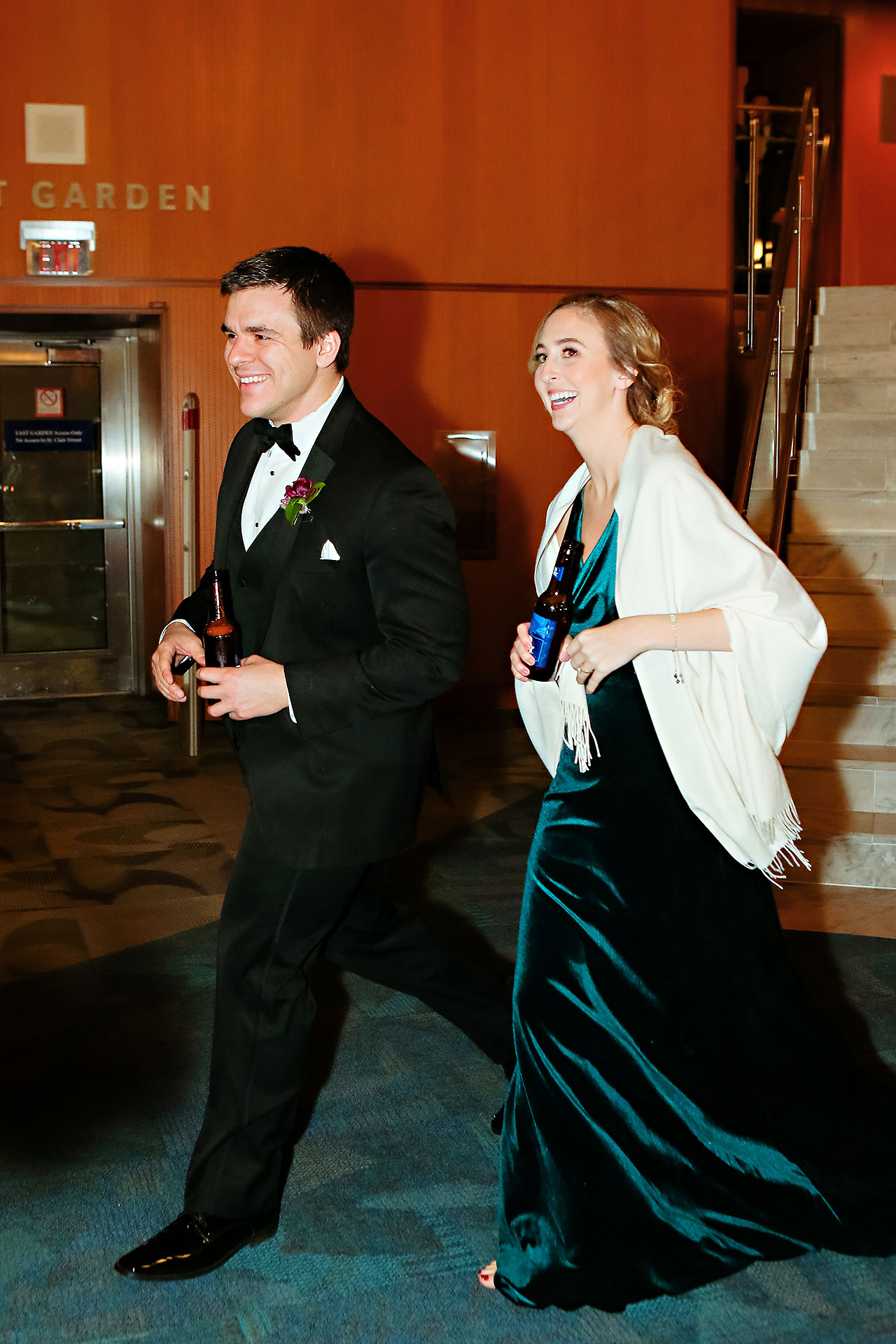 Marianne Steven Indianapolis Central Library Wedding 259