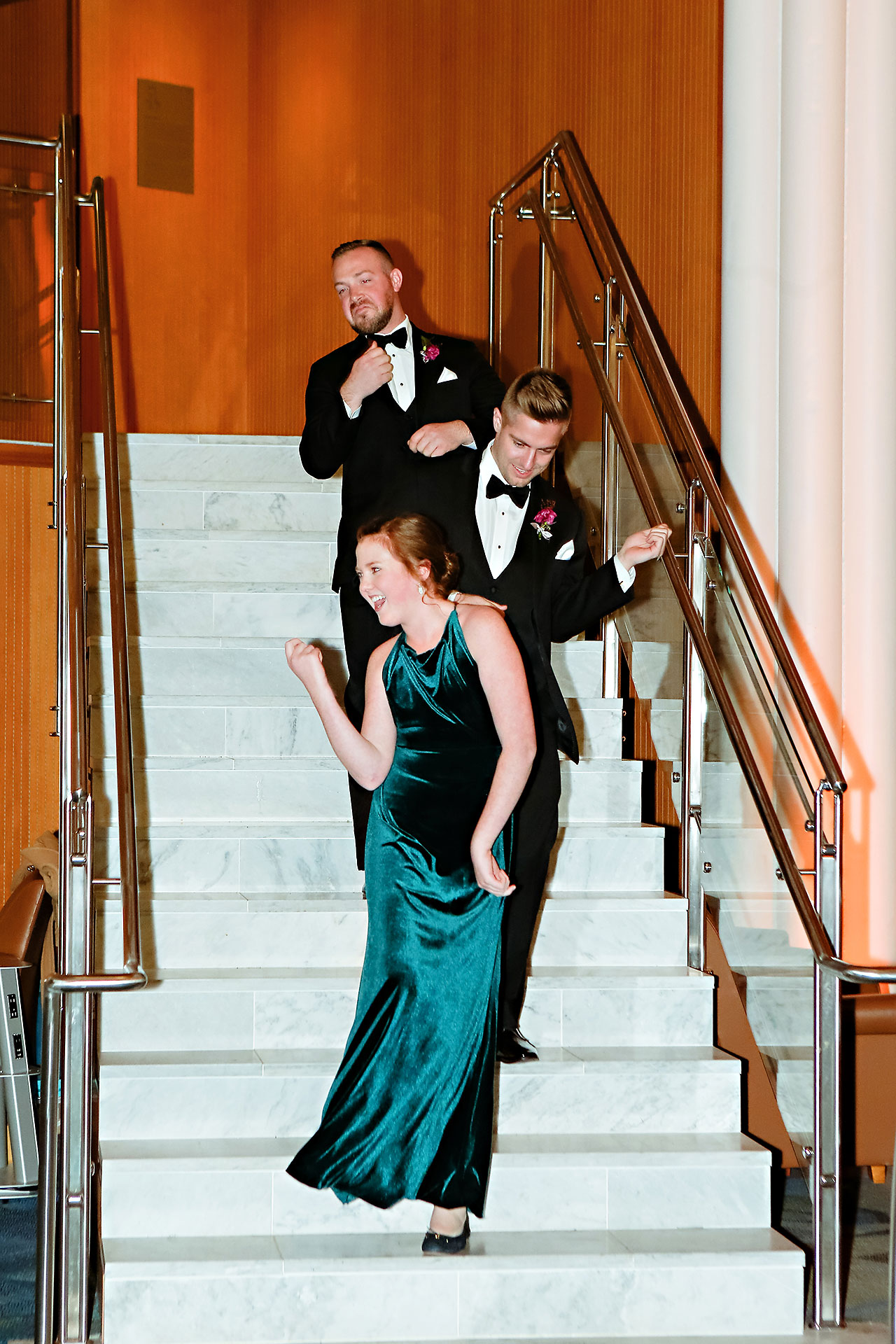 Marianne Steven Indianapolis Central Library Wedding 257