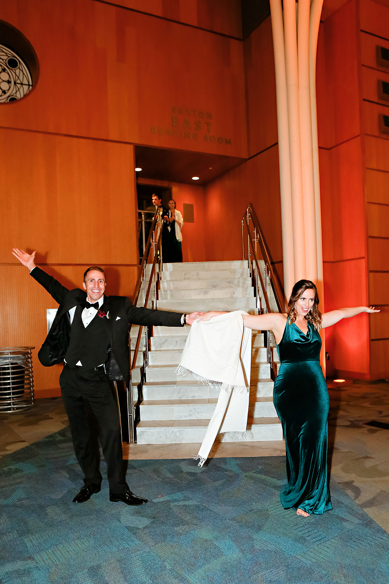 Marianne Steven Indianapolis Central Library Wedding 258