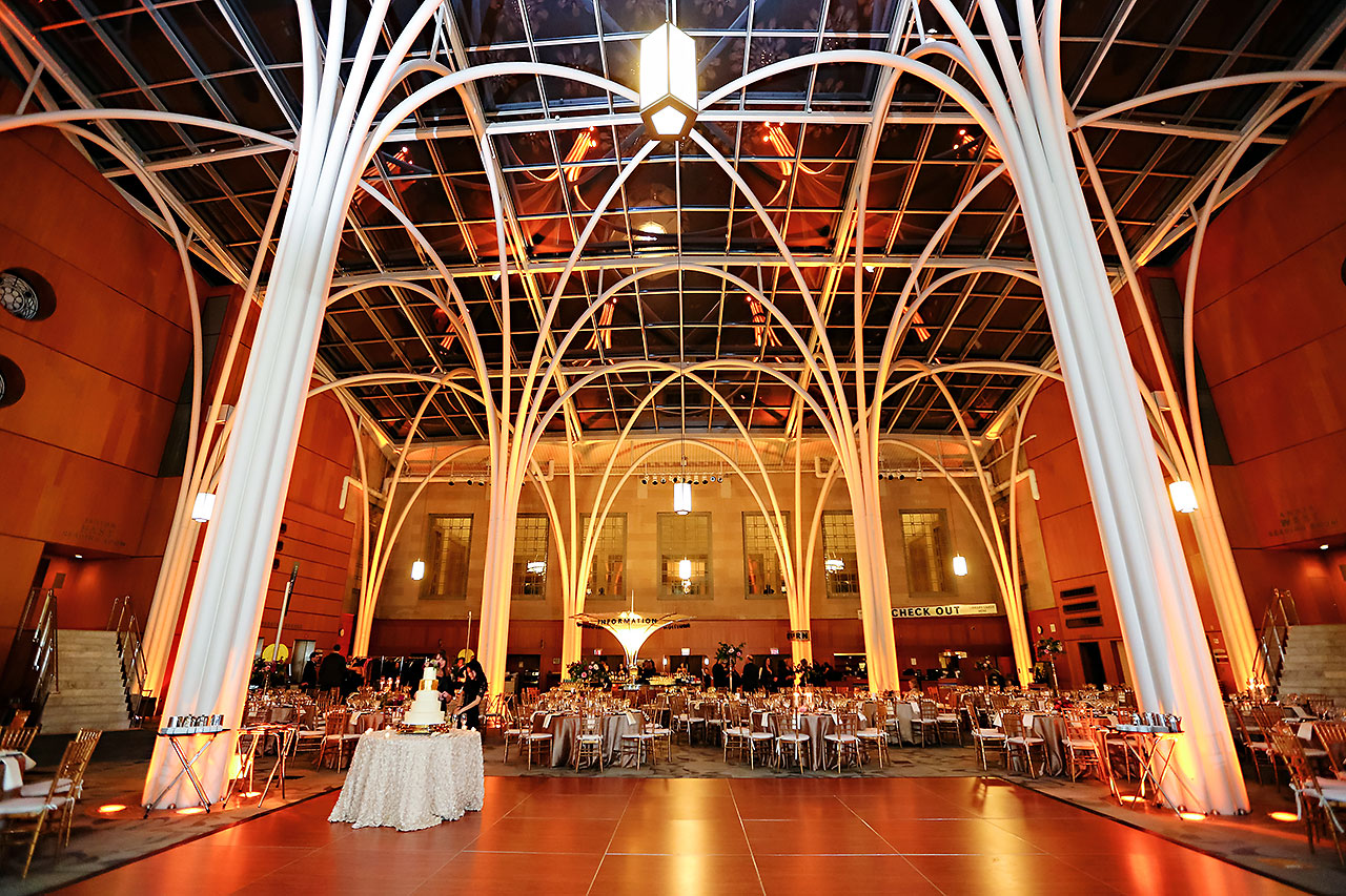 Marianne Steven Indianapolis Central Library Wedding 247