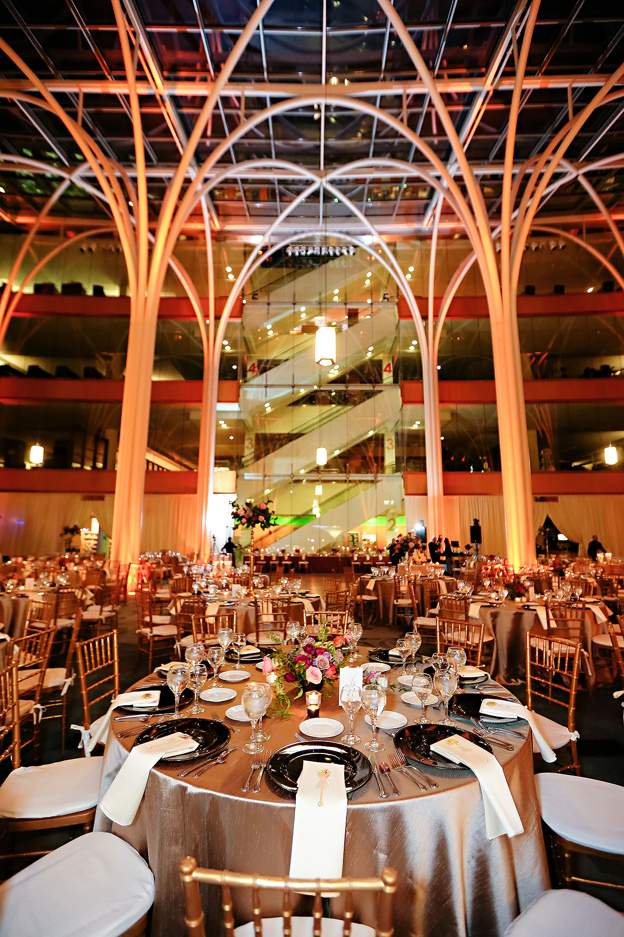 Marianne Steven Indianapolis Central Library Wedding 243