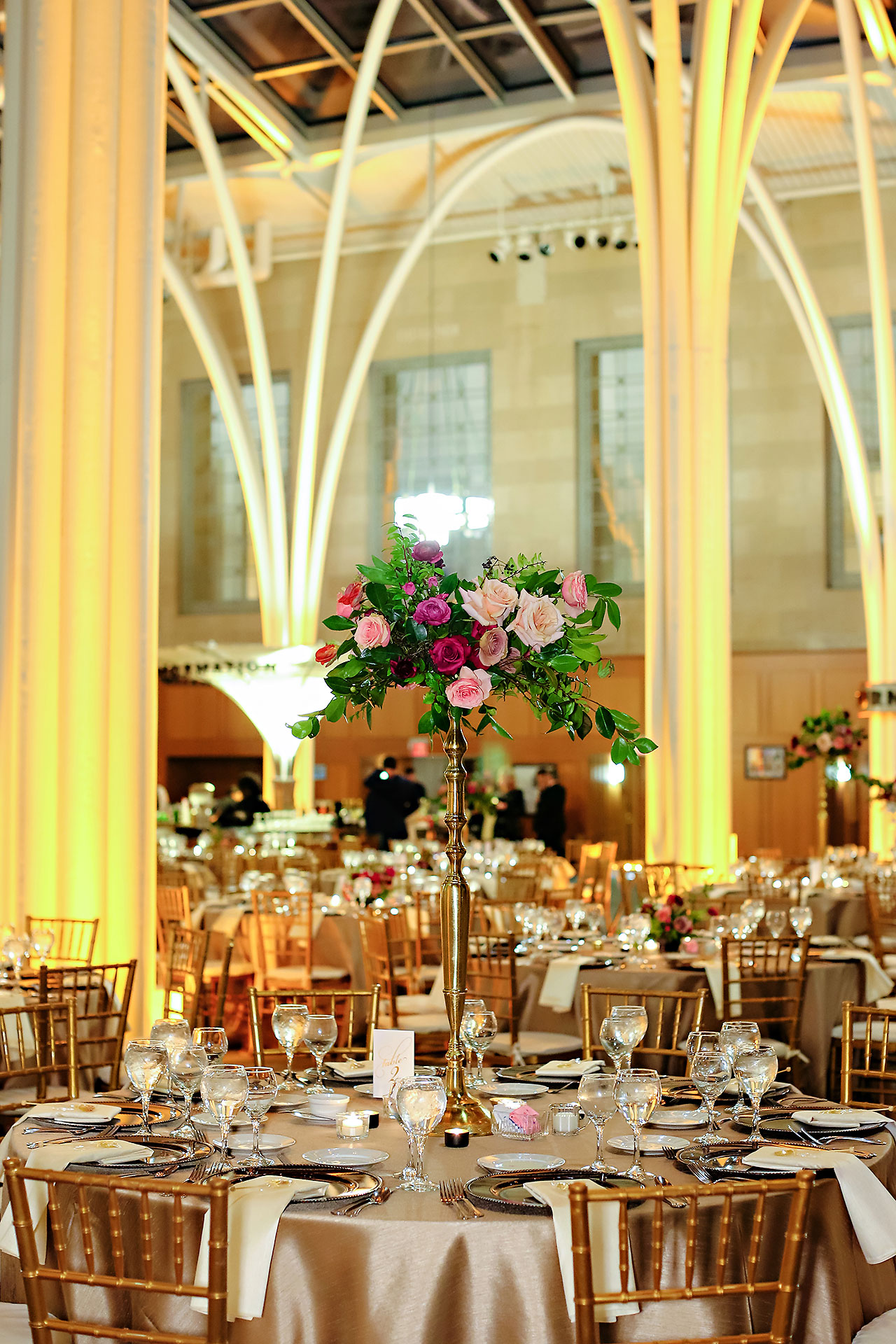 Marianne Steven Indianapolis Central Library Wedding 234