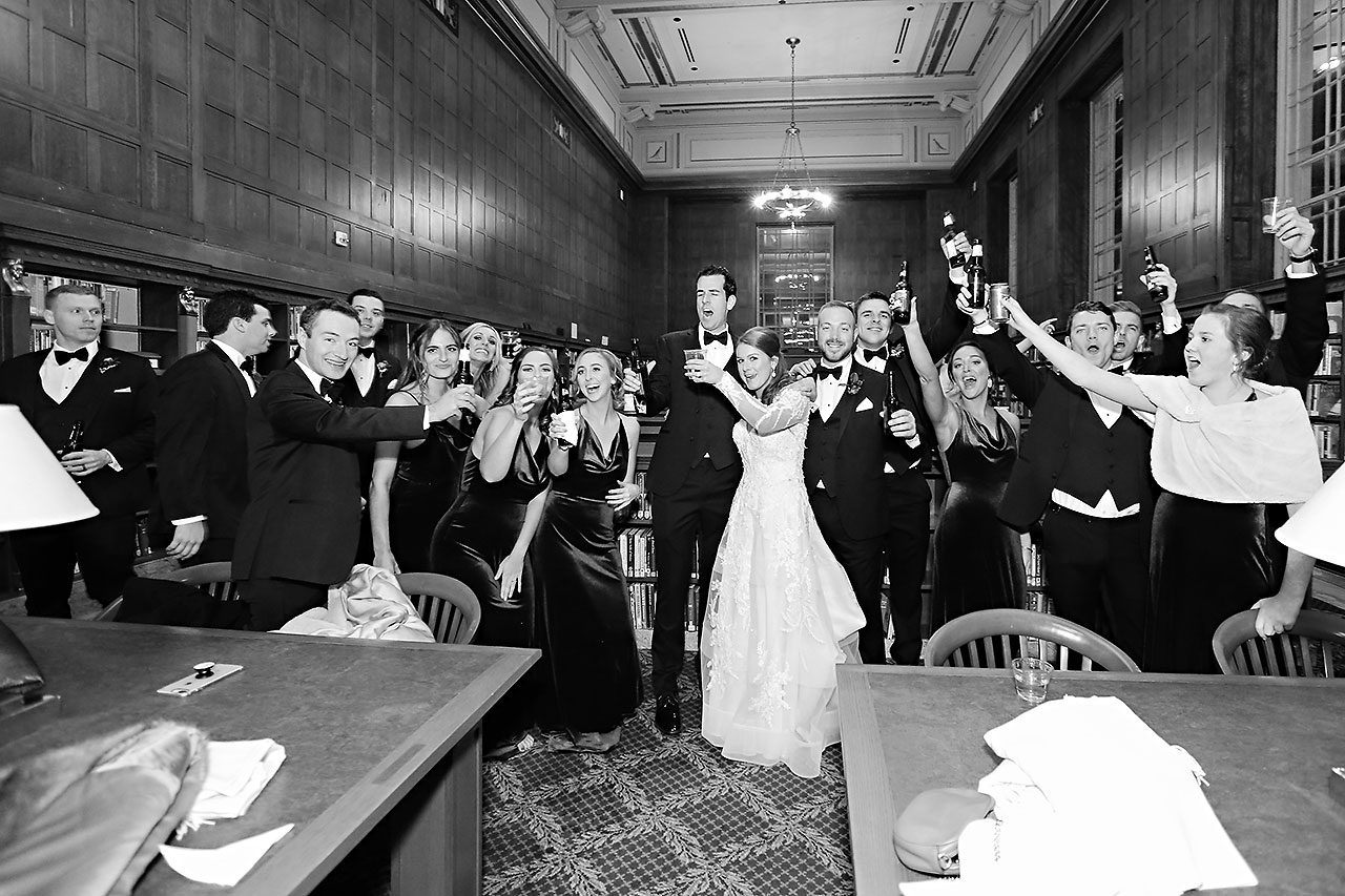 Marianne Steven Indianapolis Central Library Wedding 222